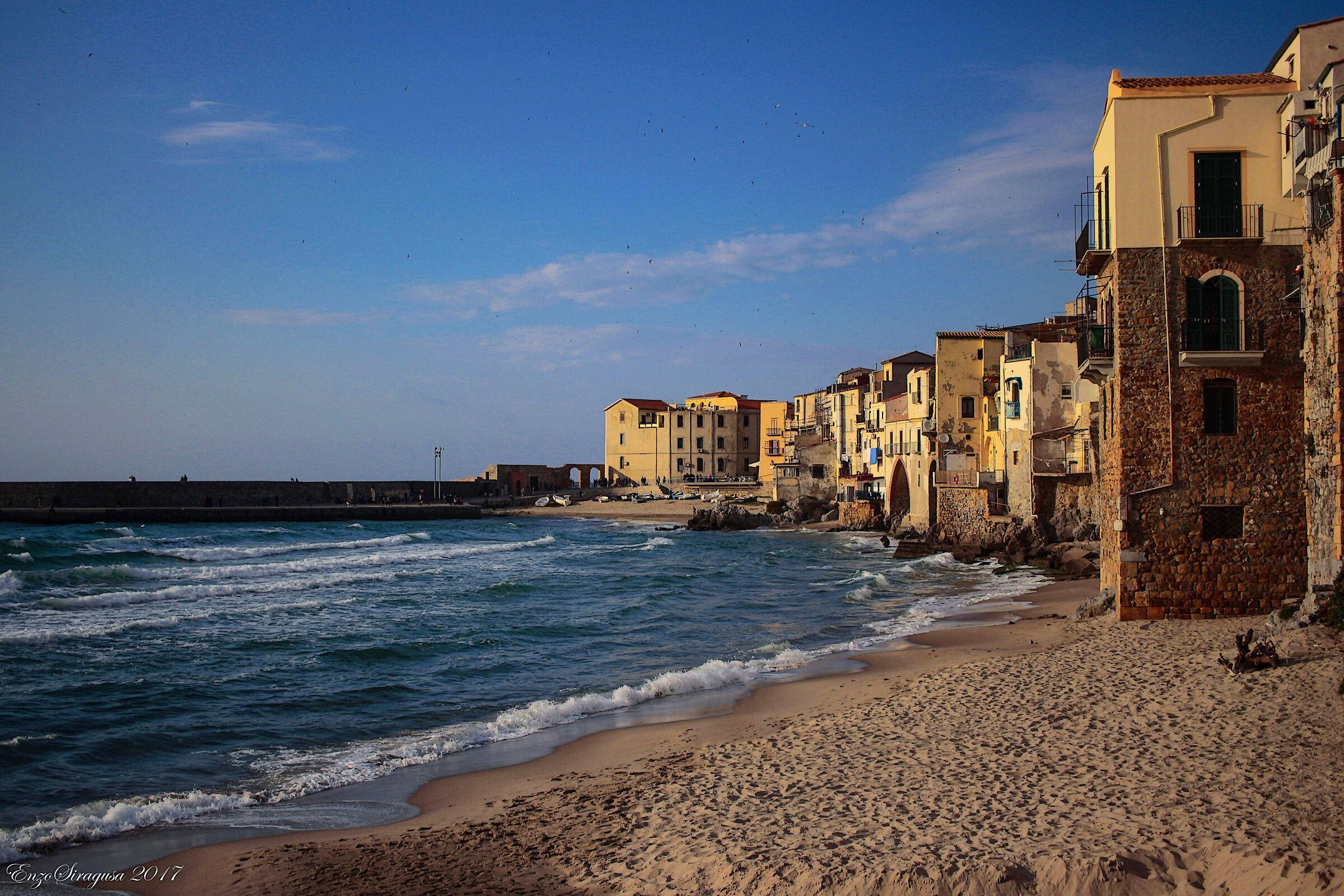 Cefalus Sicily...