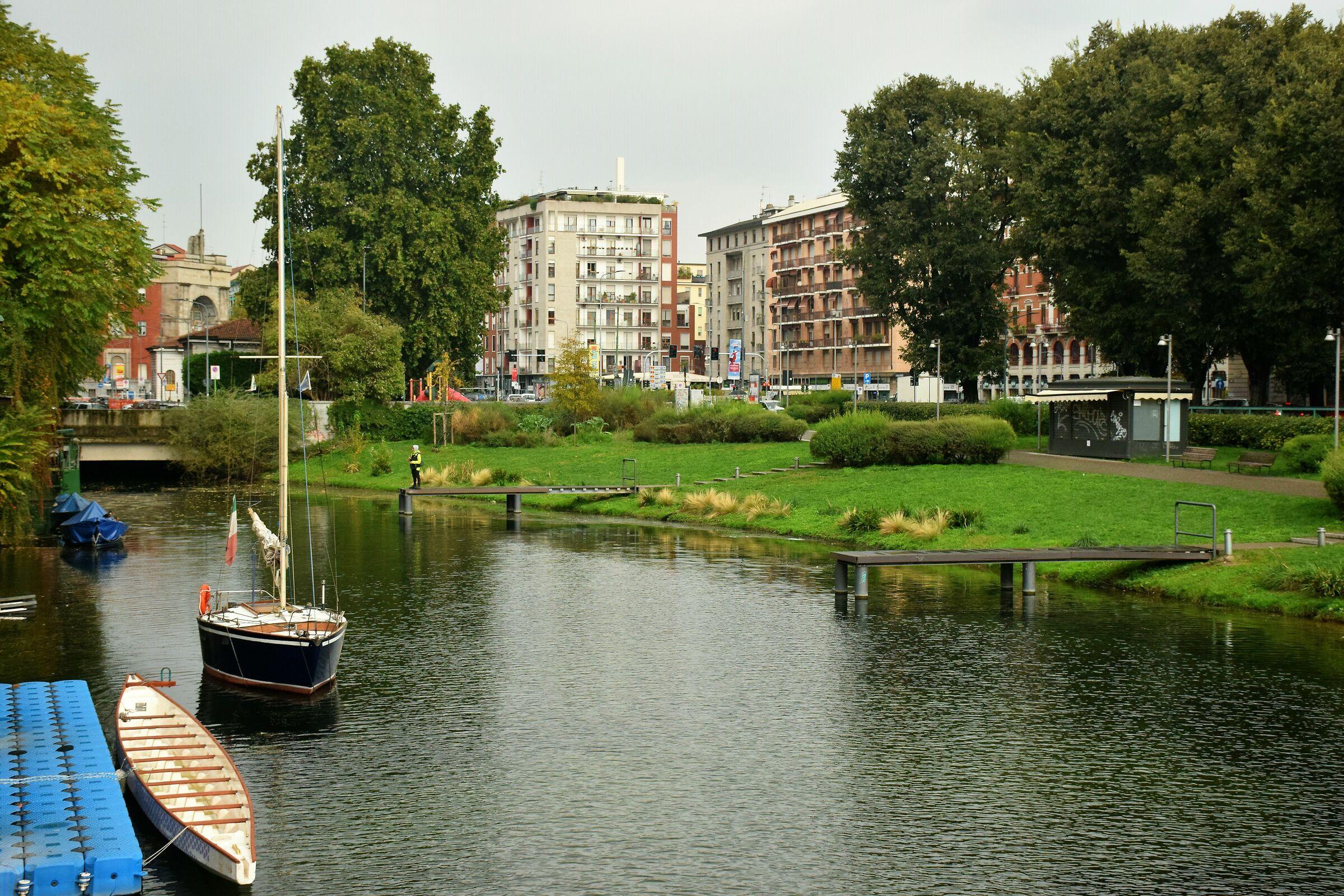 sailing in Milan...