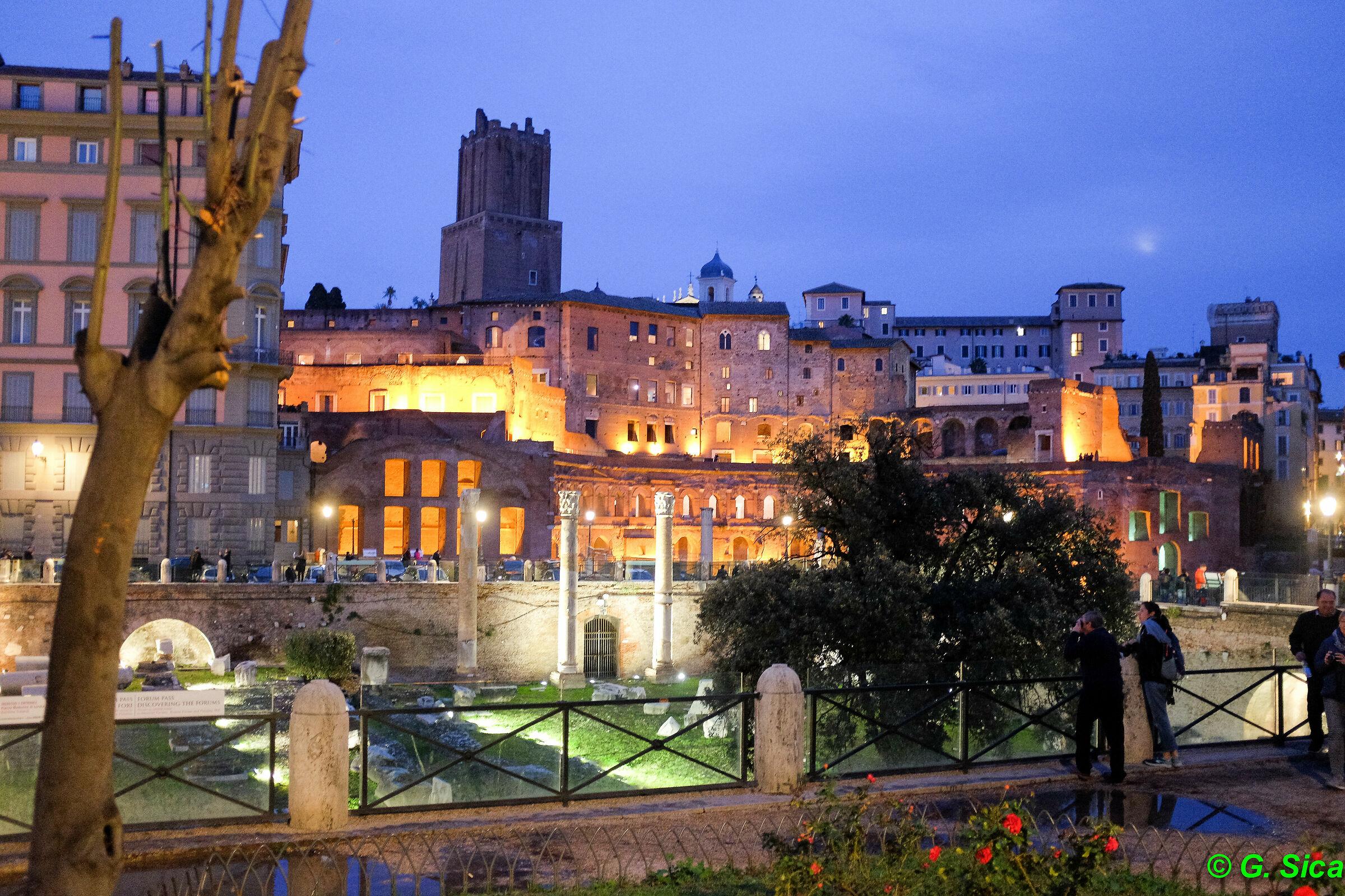 Roman evening...