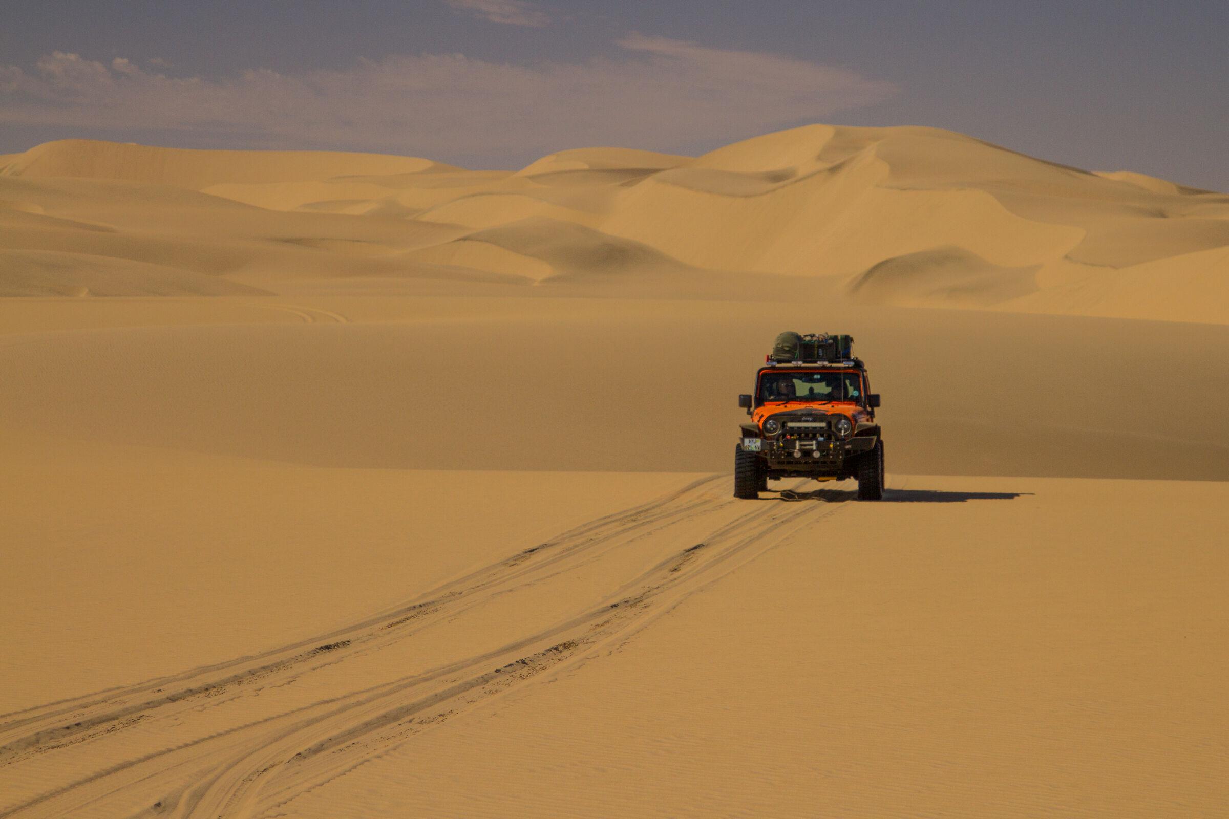 La traversata del deserto...
