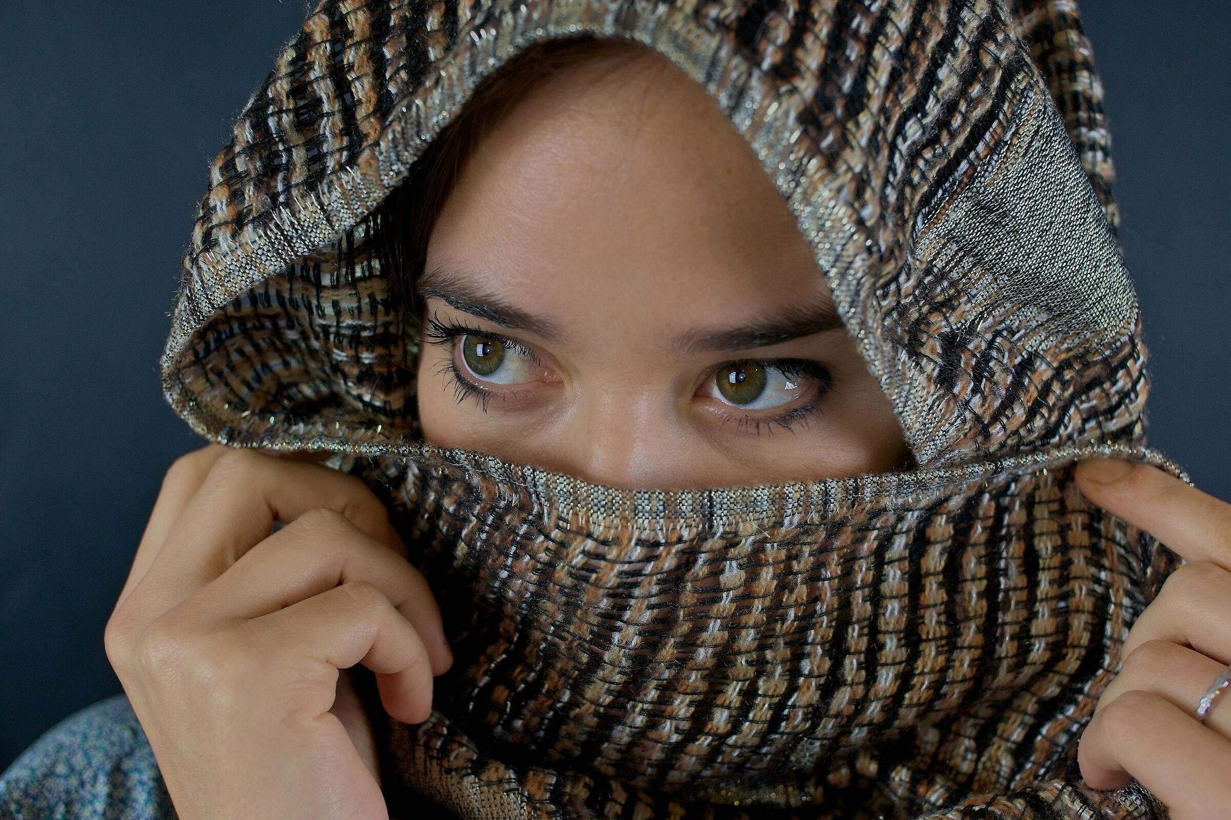 Gli occhi di Alessandra...
