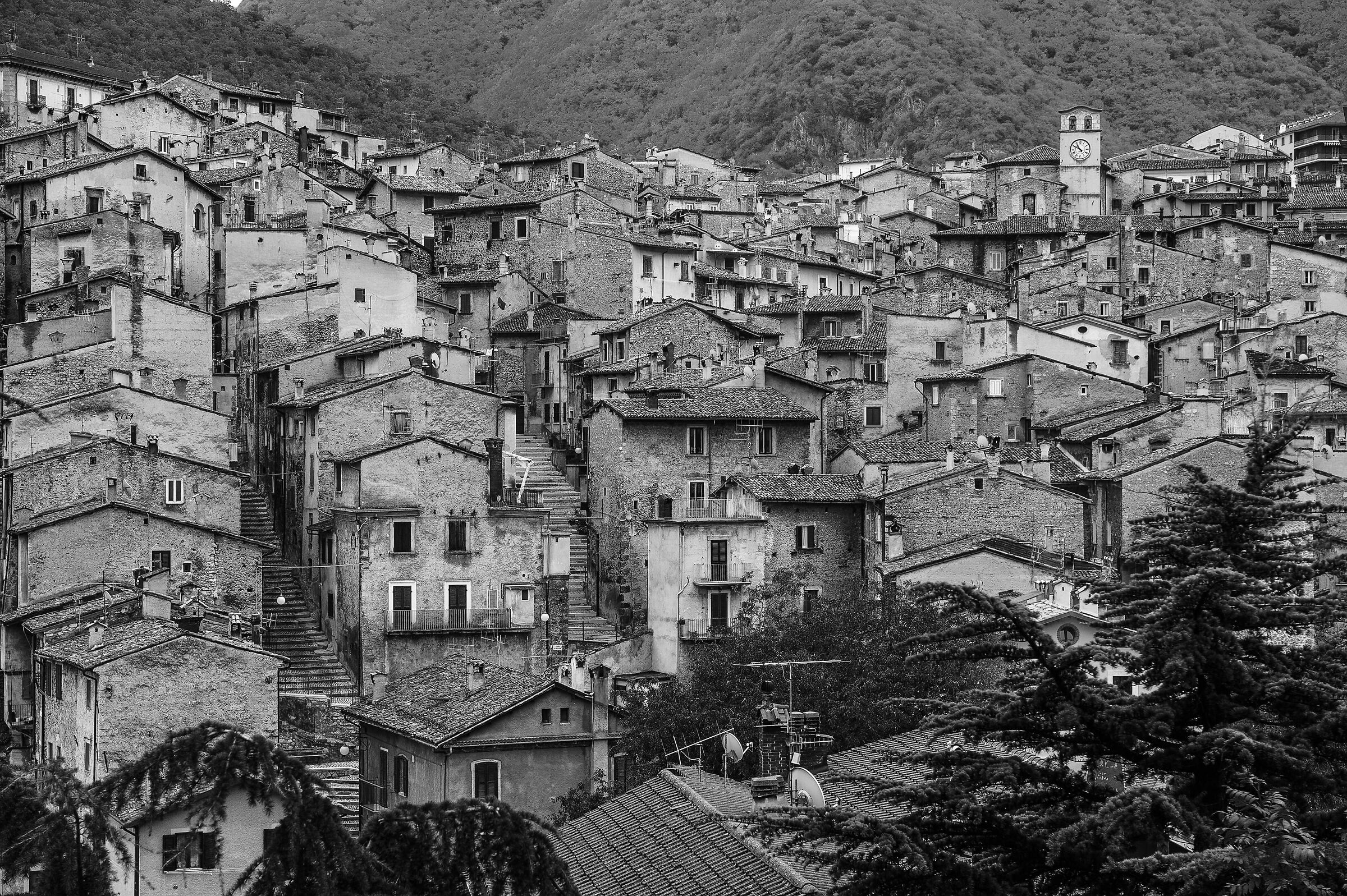 The Stone Houses of Scanno (Aq)...