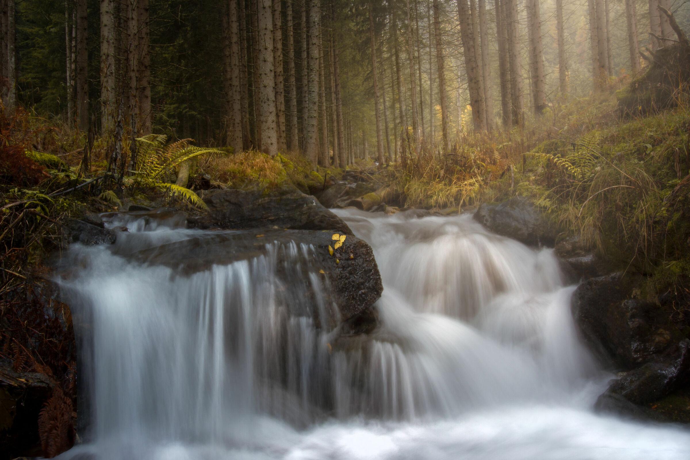 autumn waterfalls...