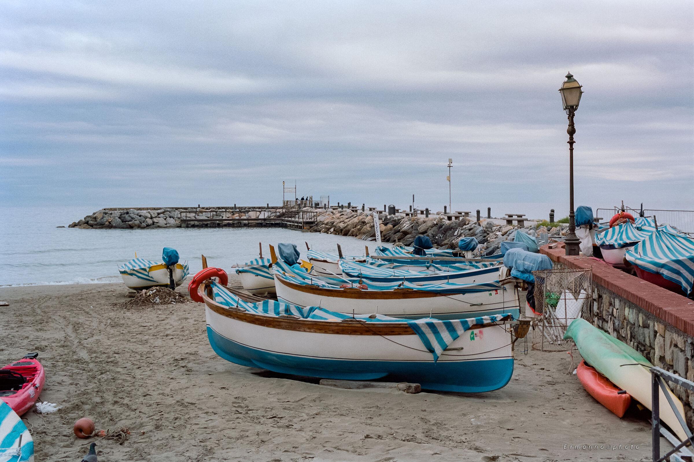 Barche sulla Sabbia...