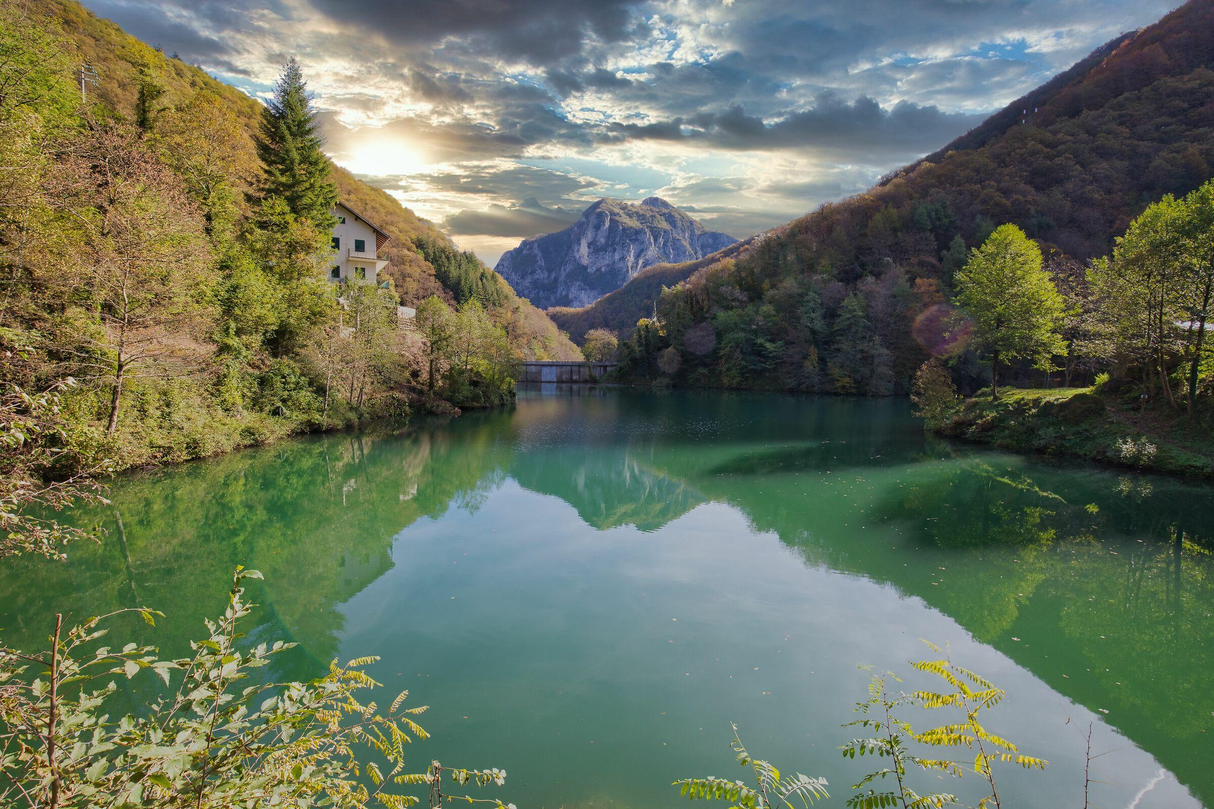 holy lake...