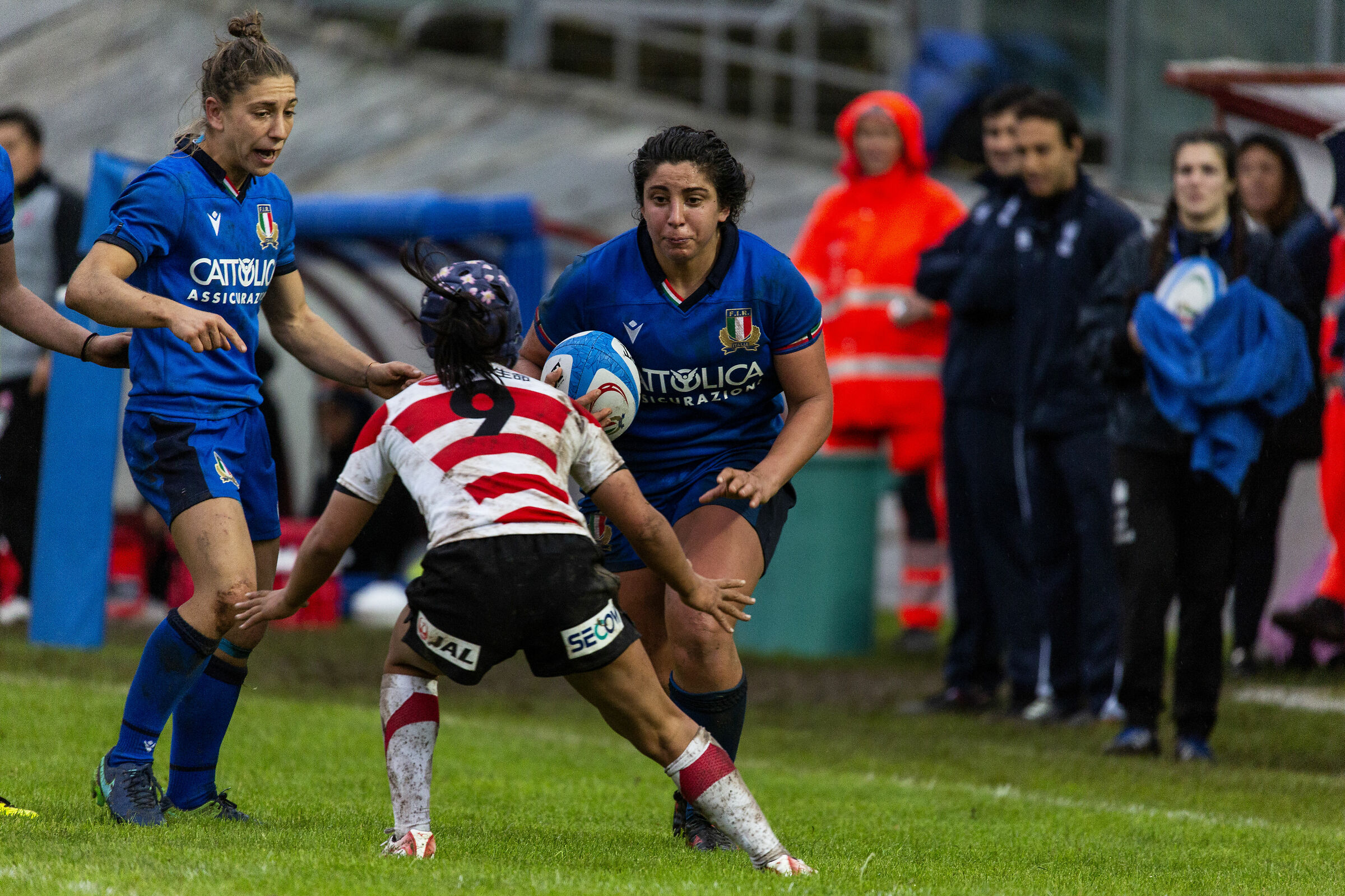 Test Match Italy Japan Women's National Team...