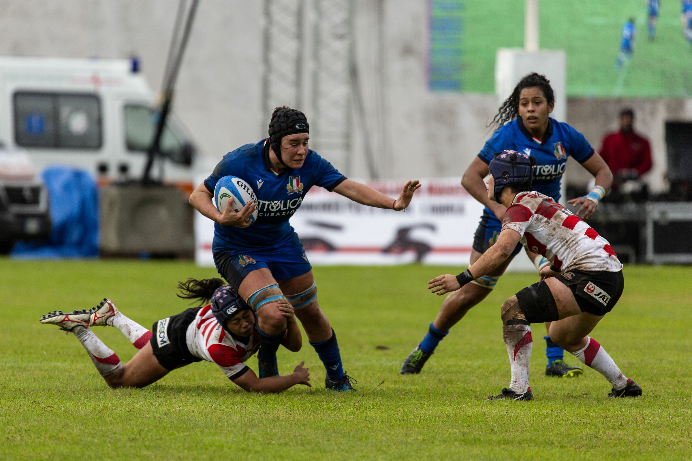 Test Match Italy Japan Women's National Team...