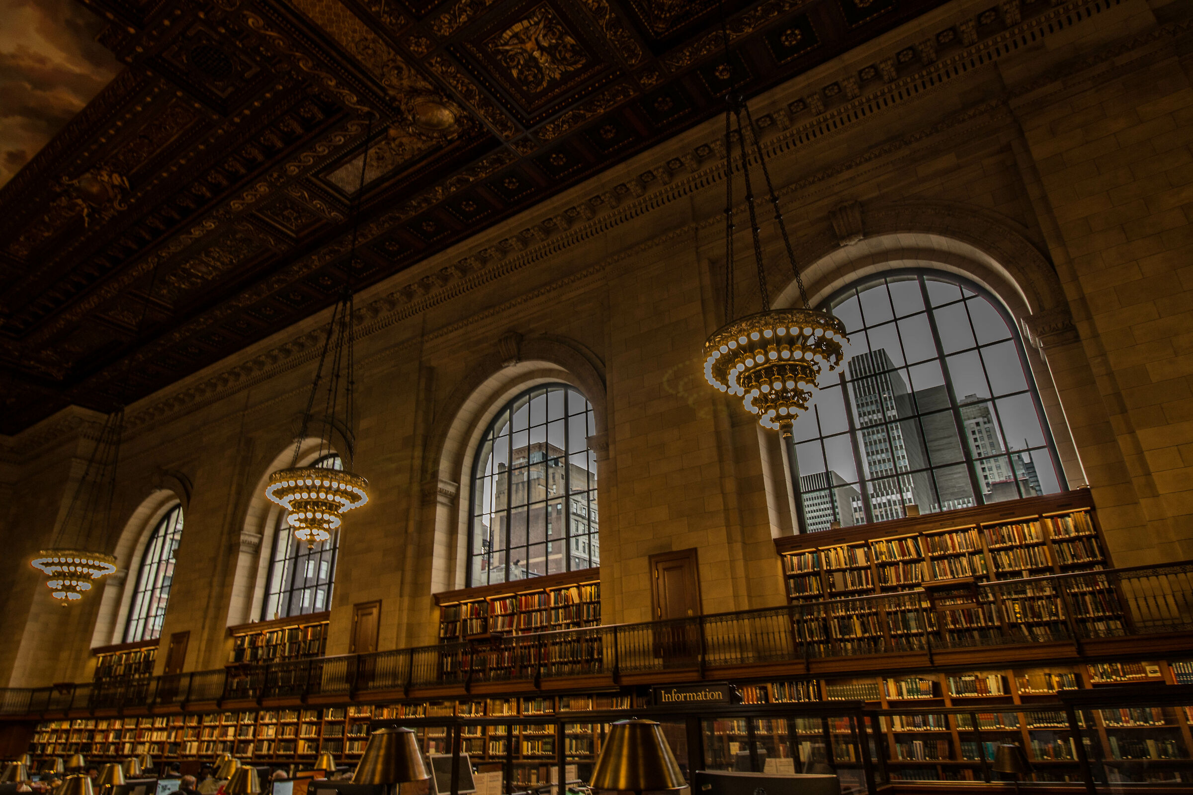 public library...