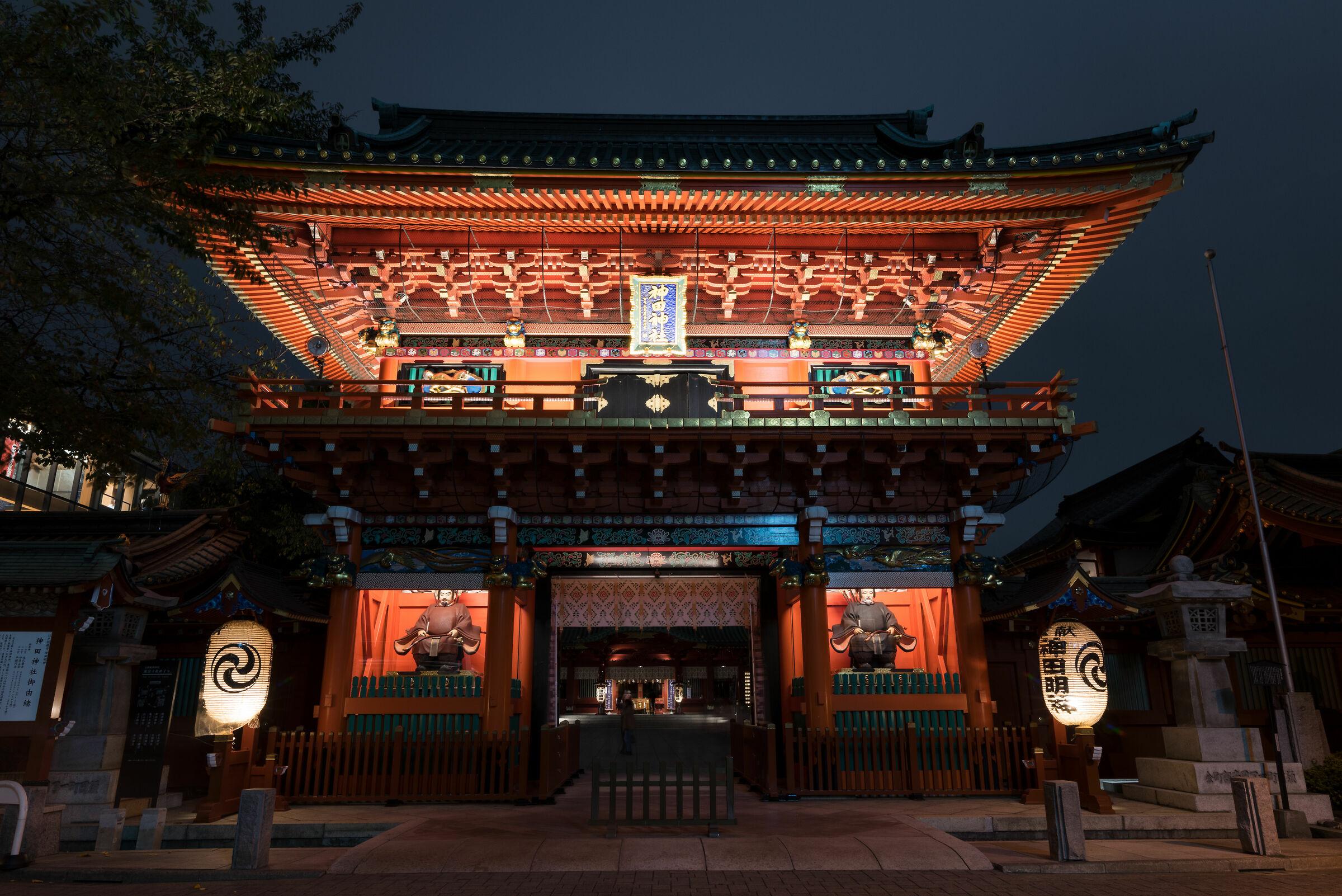 Kanda Shrine - Main Gate...