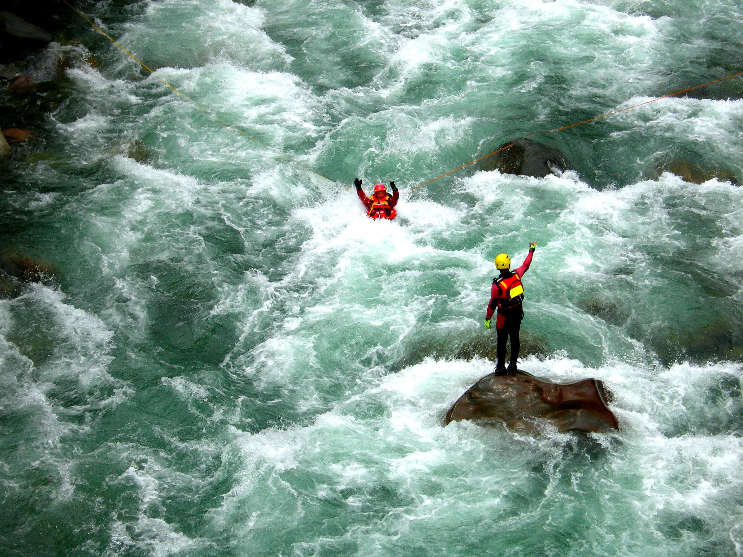 vvf. Addestramento soccorso acquatico fluviale...