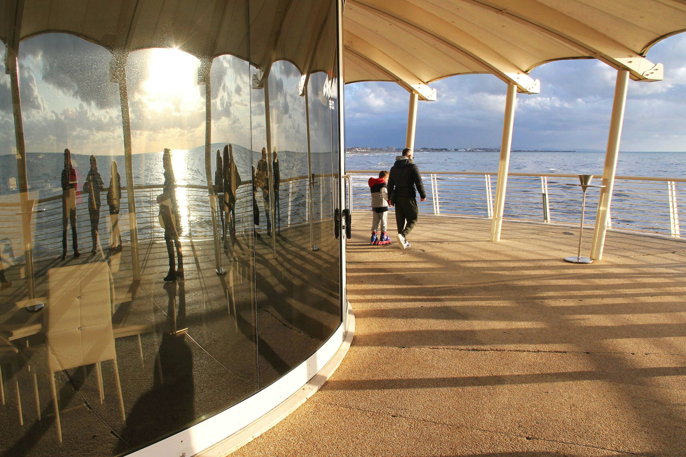 Reflections on the wharf...