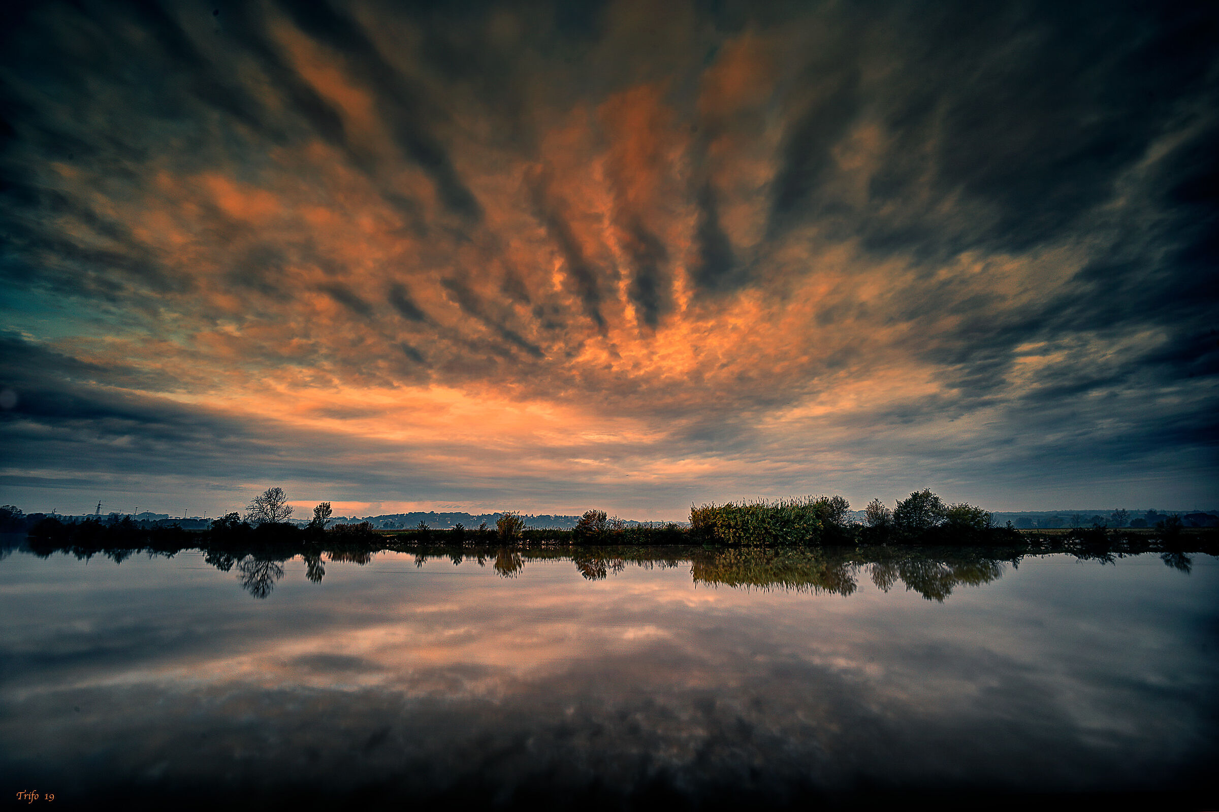 Colorful clouds .........