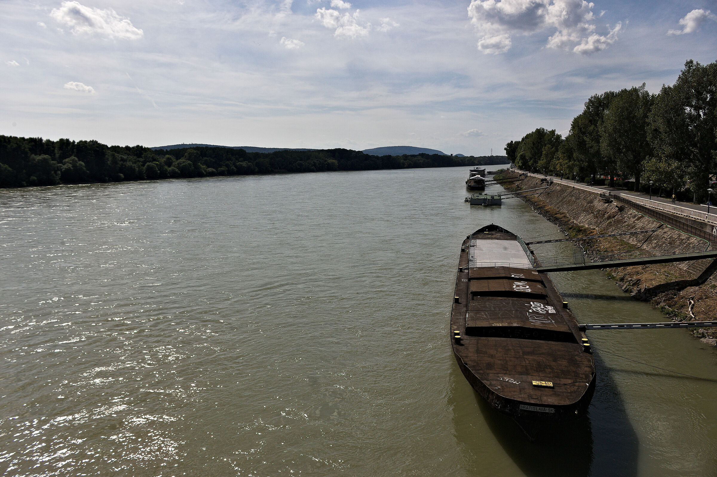On the beautiful Danube... Blue?...