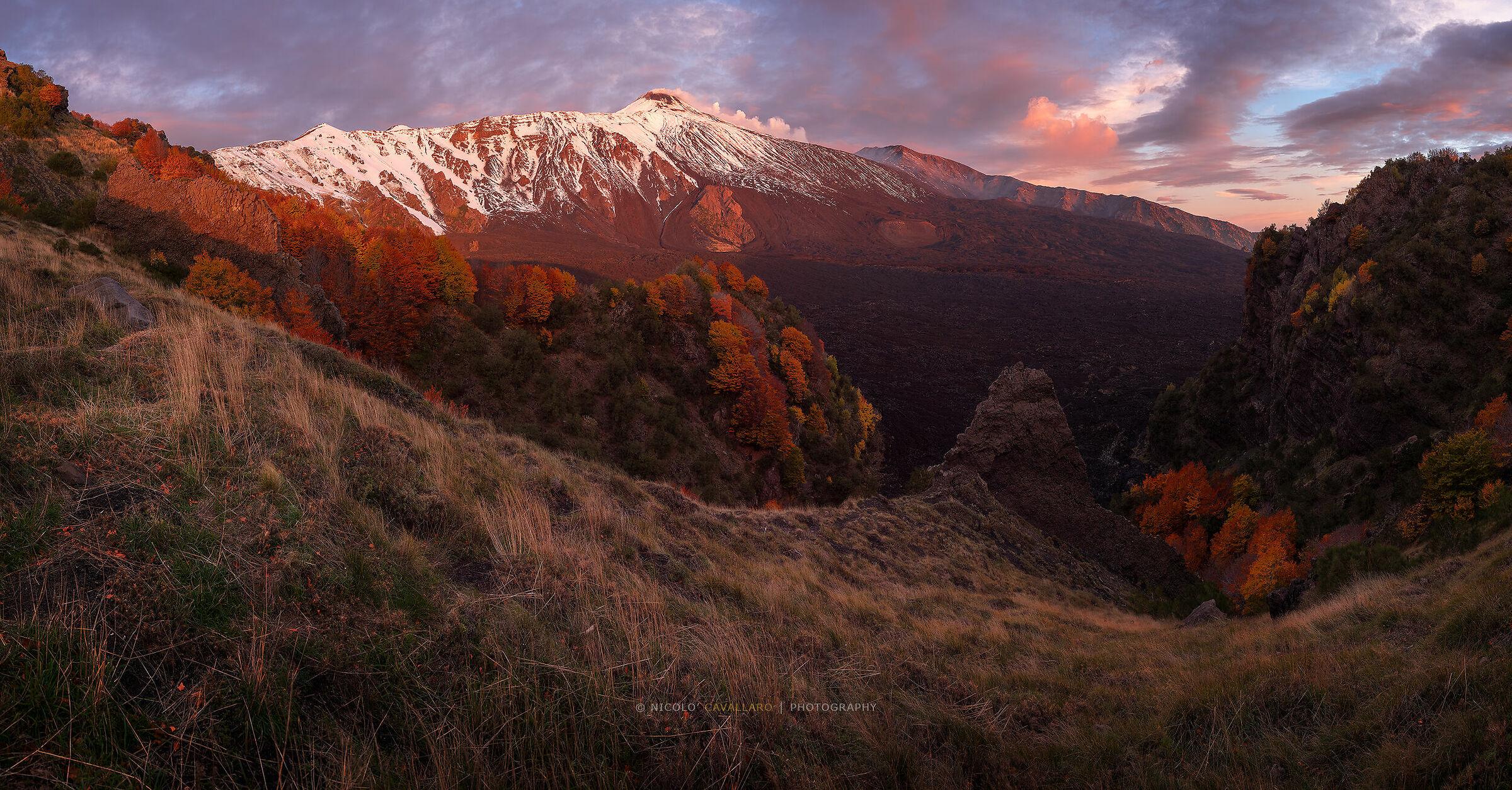 Etna - I colori dell'Autunno...