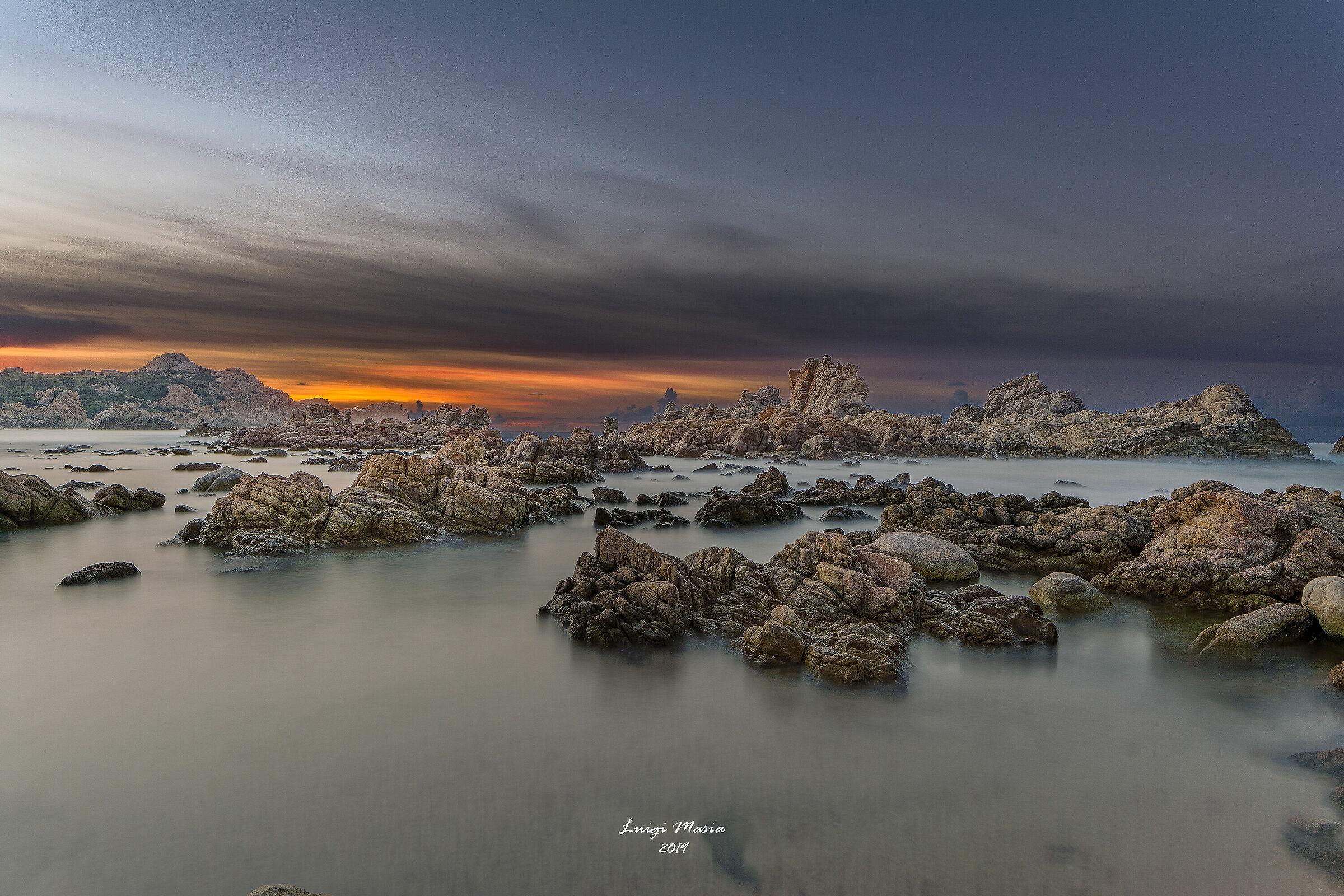 Sunset at Red Cala...
