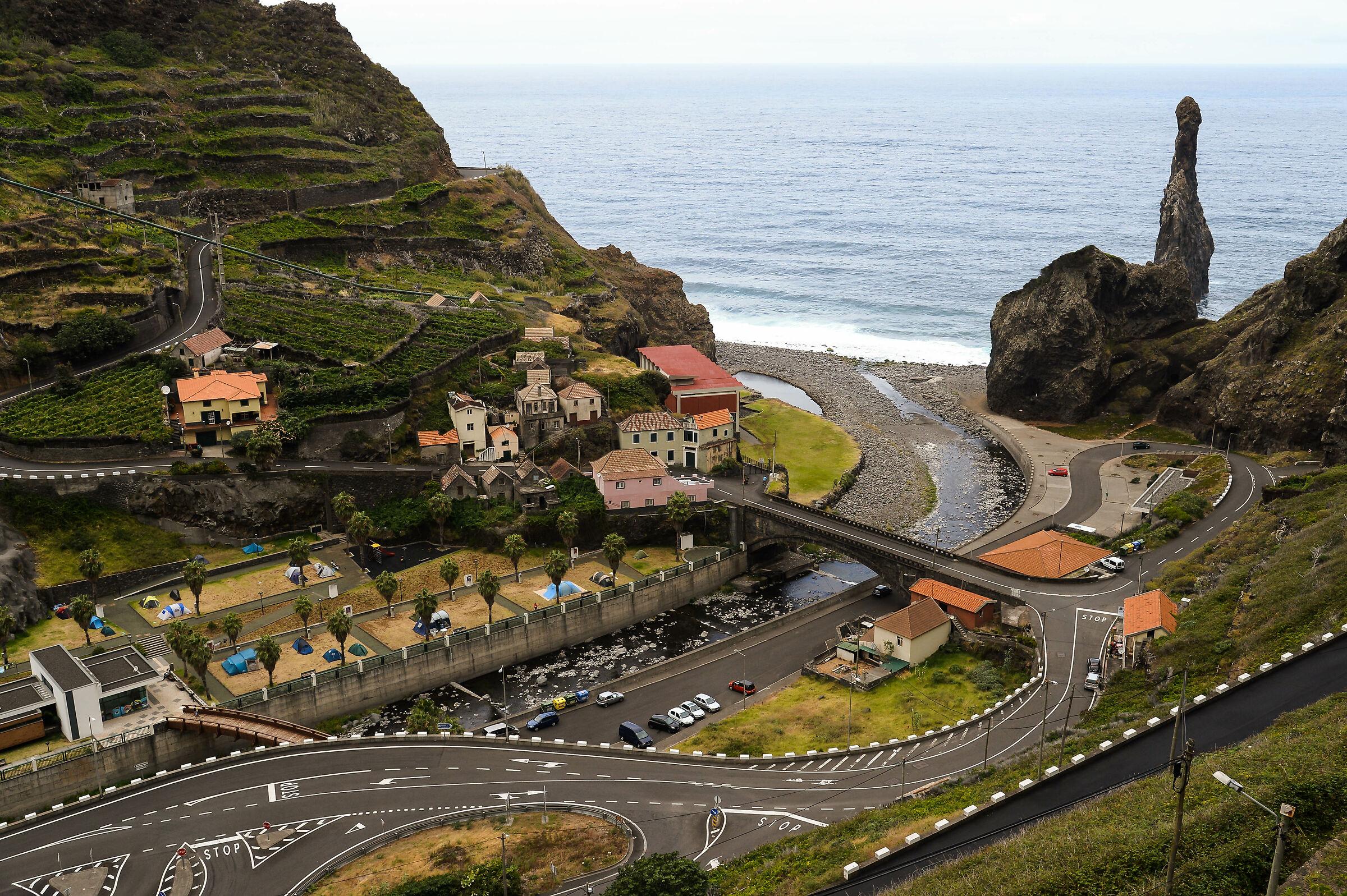 Ribeira da Janela, Madeira...