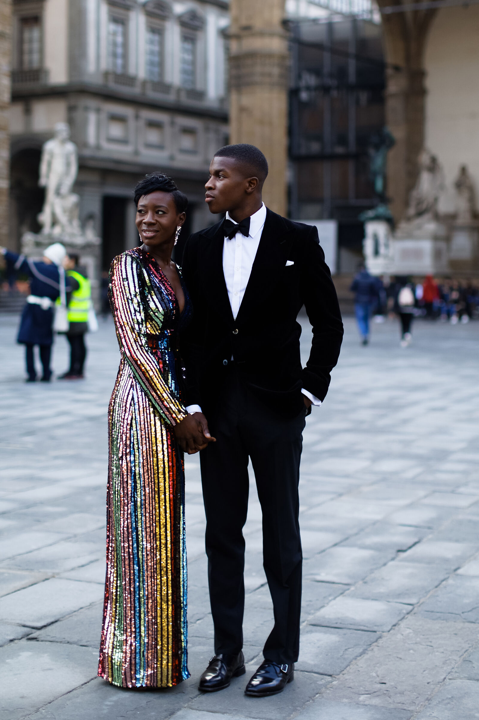 Just married in Florence...