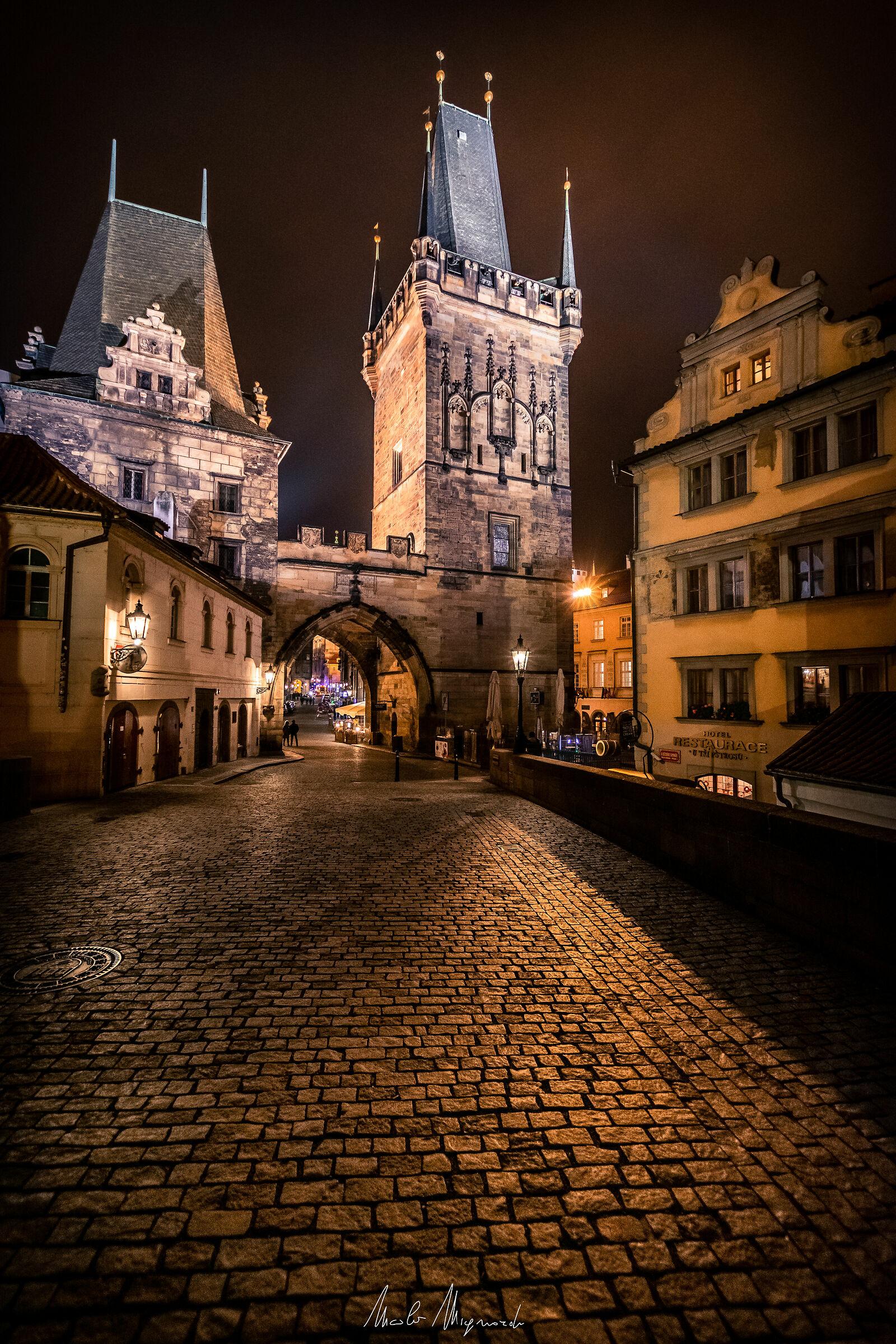 La notte di Praga...