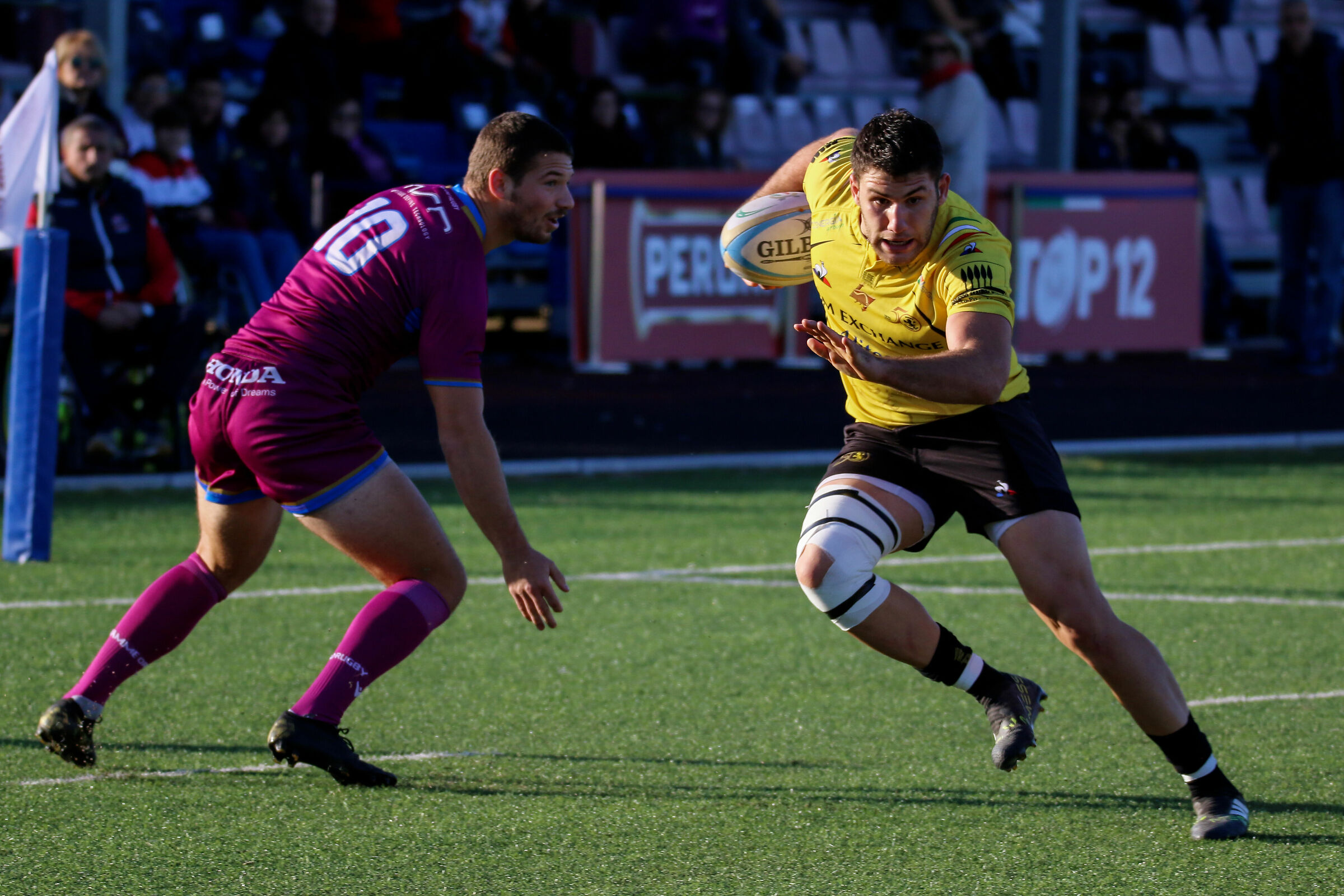 Flames Gold Rugby Vs Exchange Viadana 31-27 TOP12...