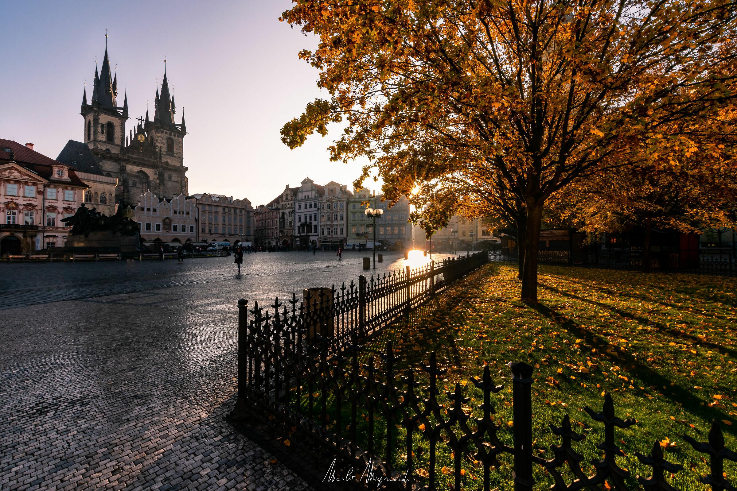 Good morning Prague...