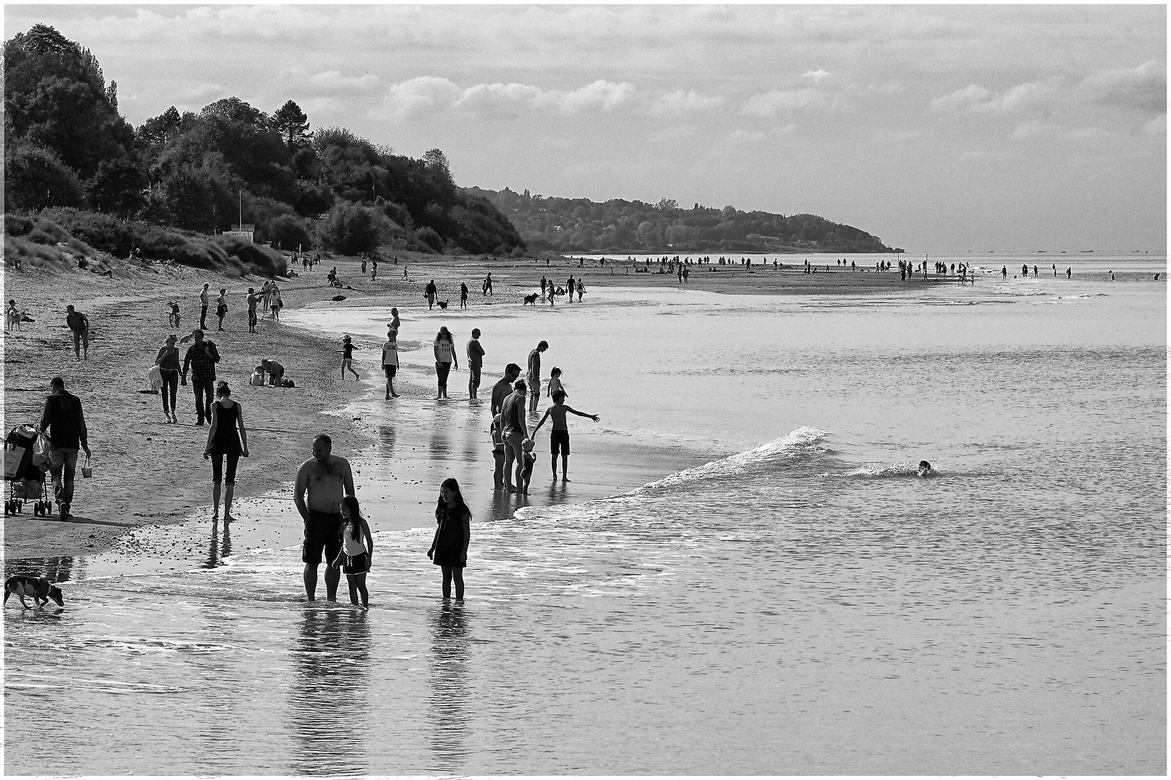 Spiaggia di Honfleur - Ottobre...