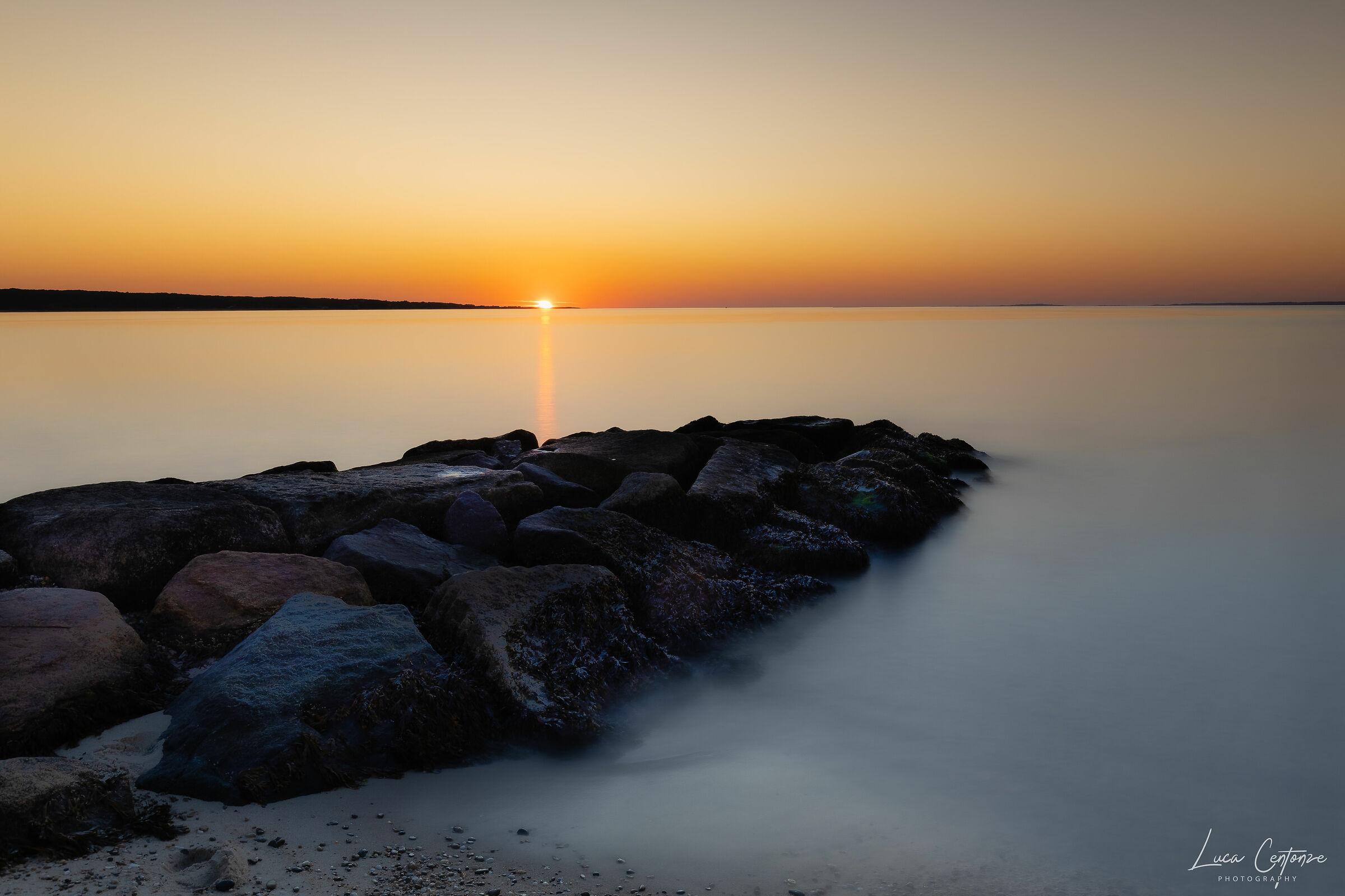 Sunset at the Menemsha Beach...