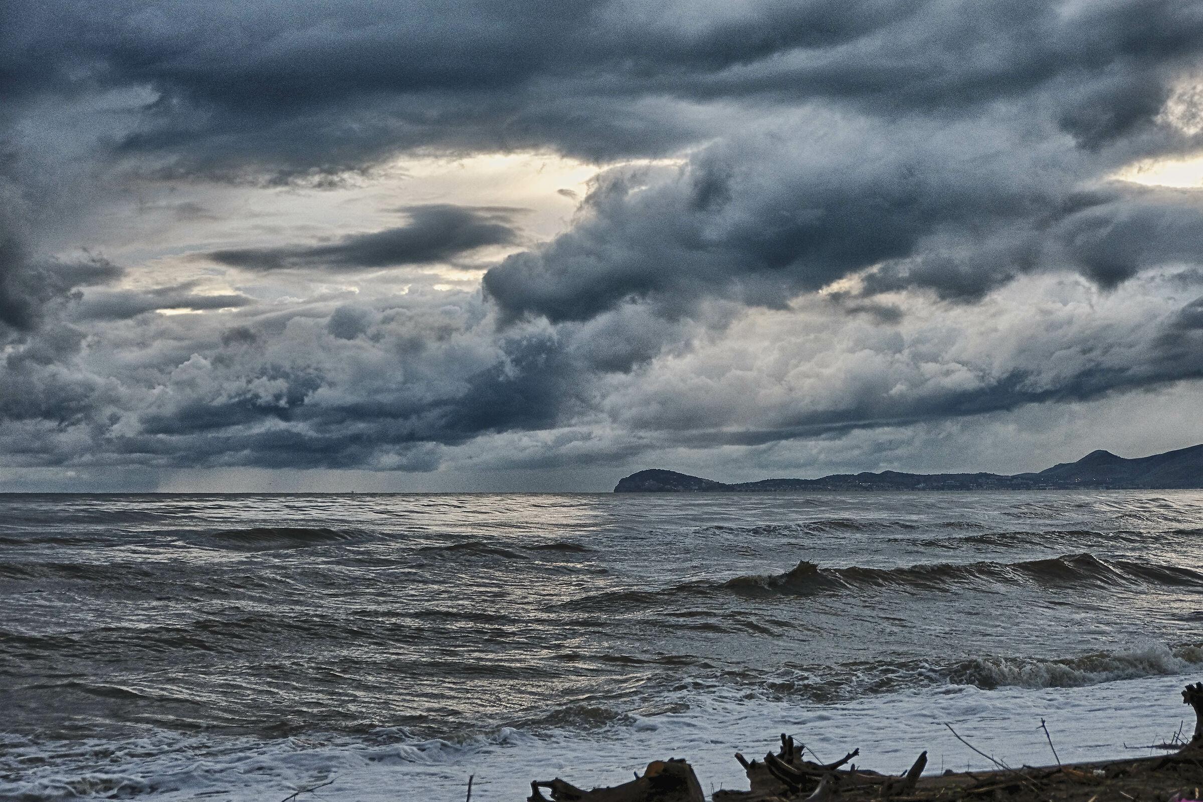 The headland of Gaeta...