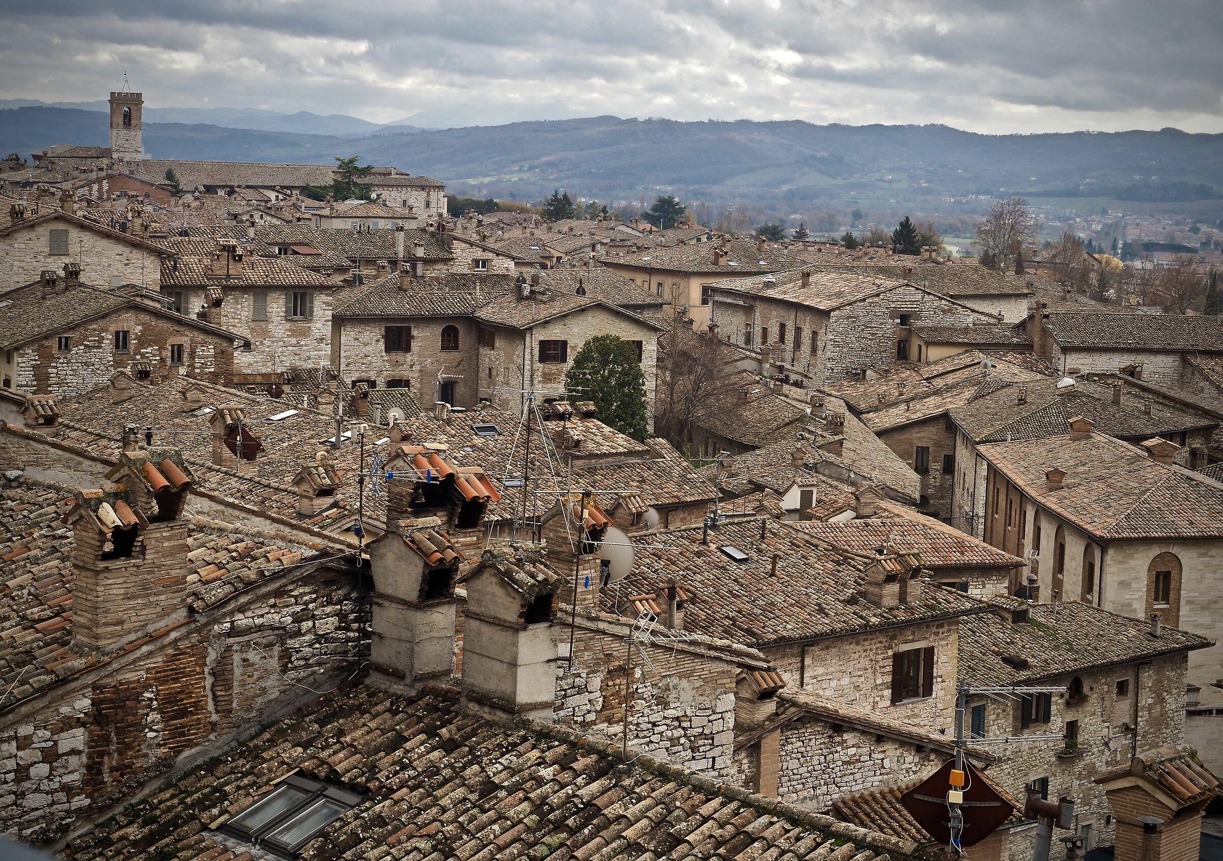 Tetti di Gubbio...