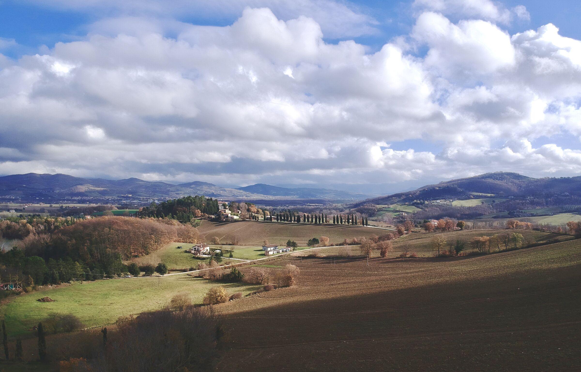 Campi Umbri in autunno...