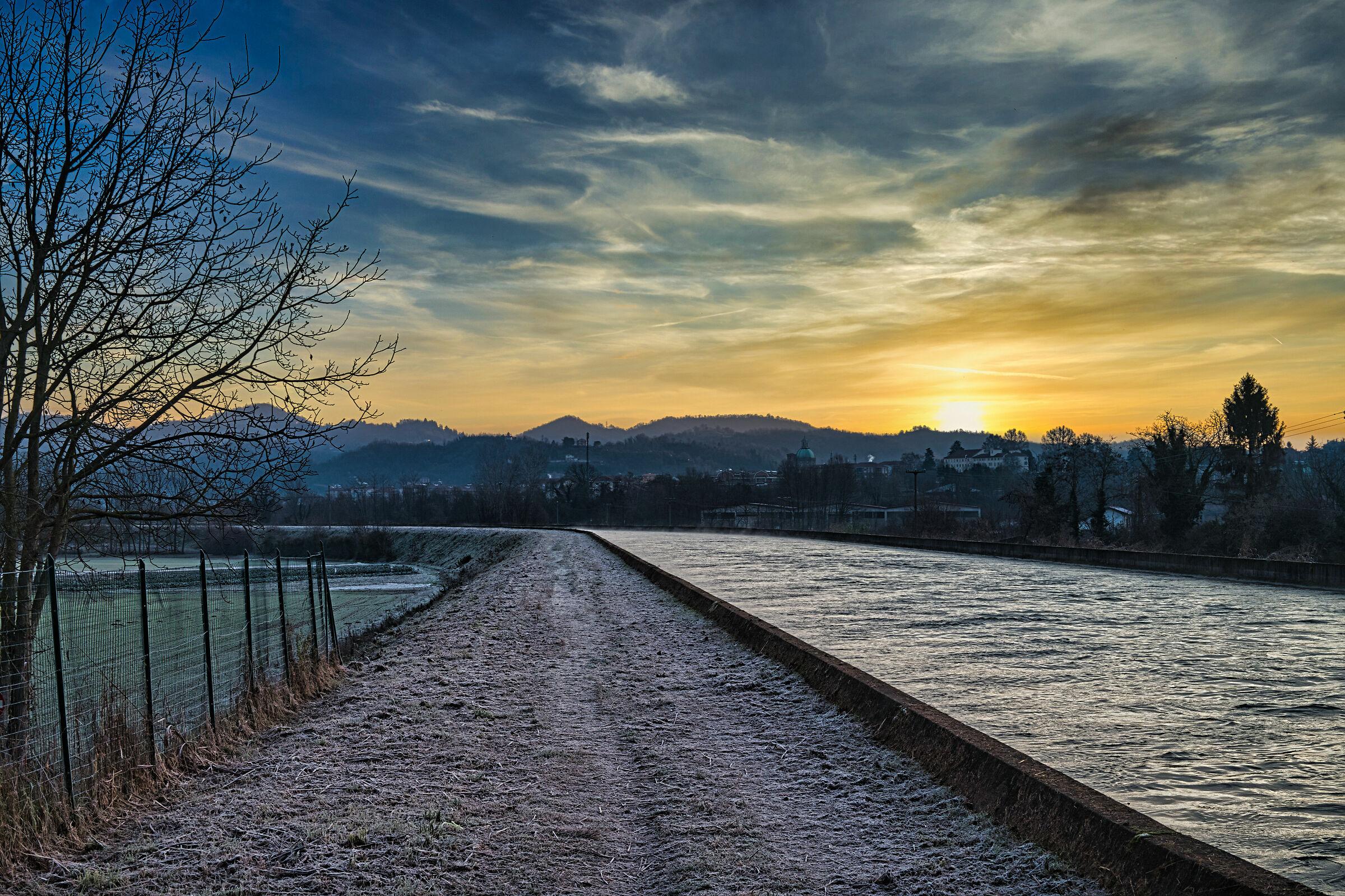 Cavour Canal in Castiglione Torinese...