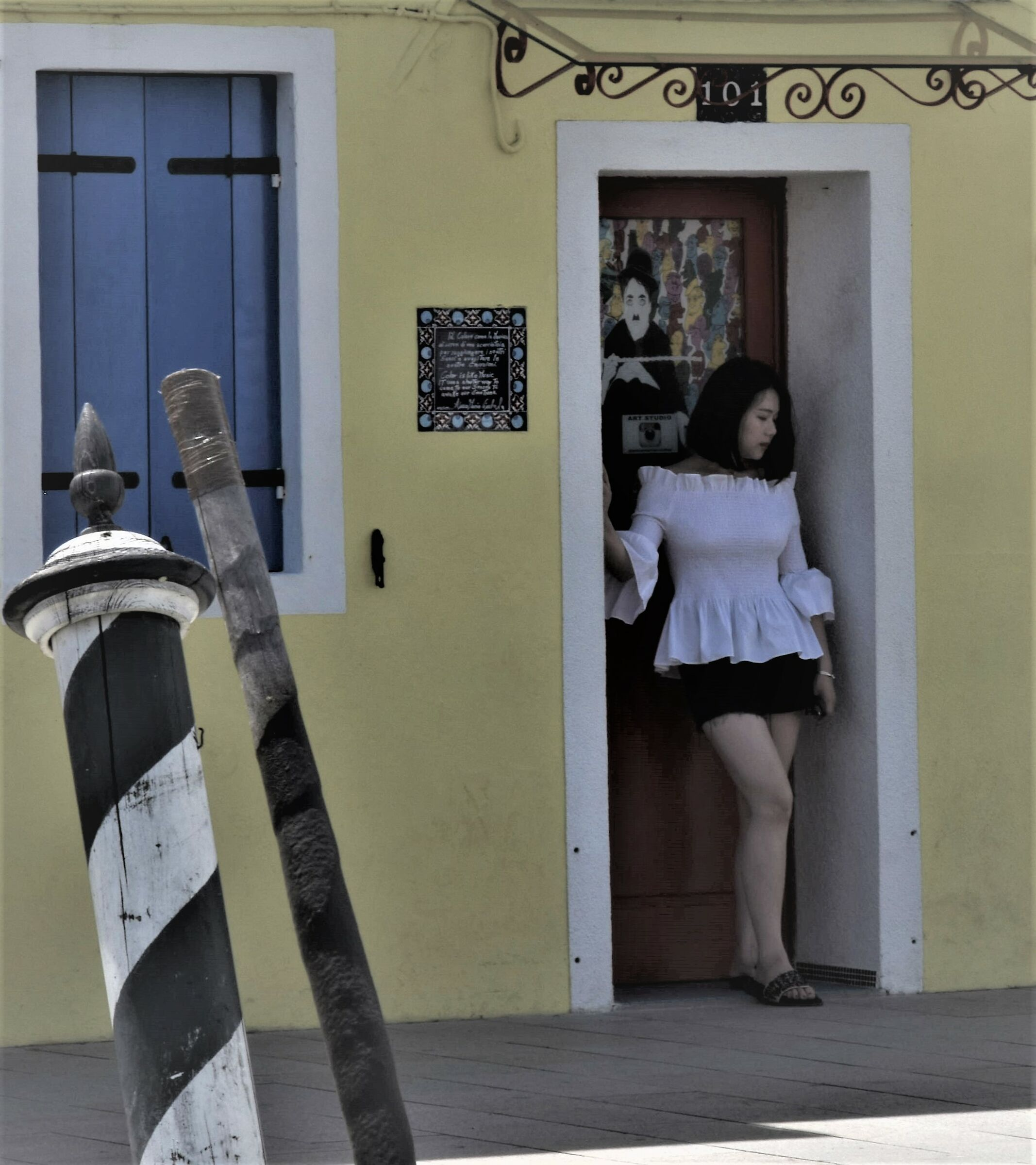 a portrait of the East in Burano...