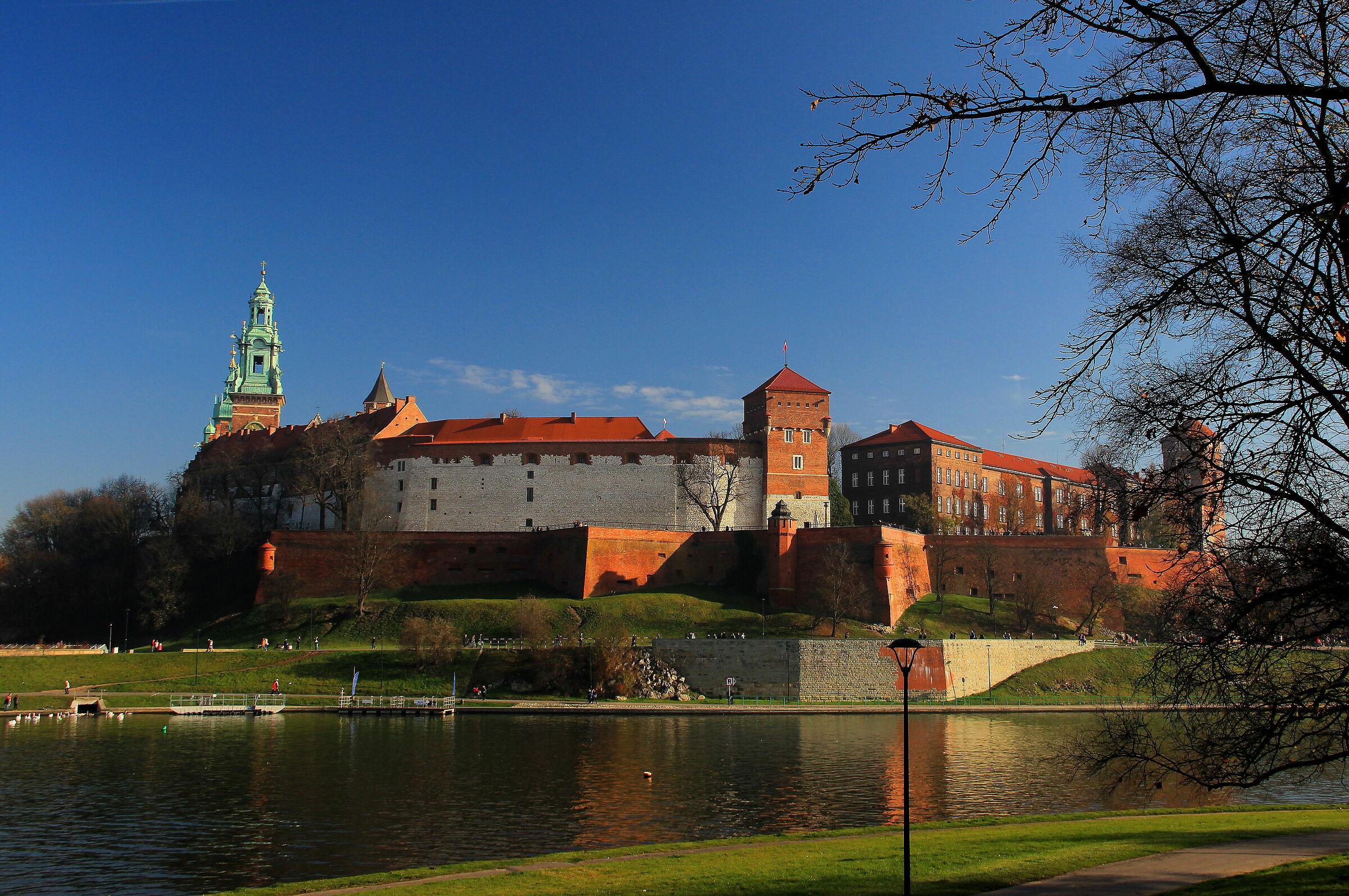 Cracovia. Il Castello di Wawel...