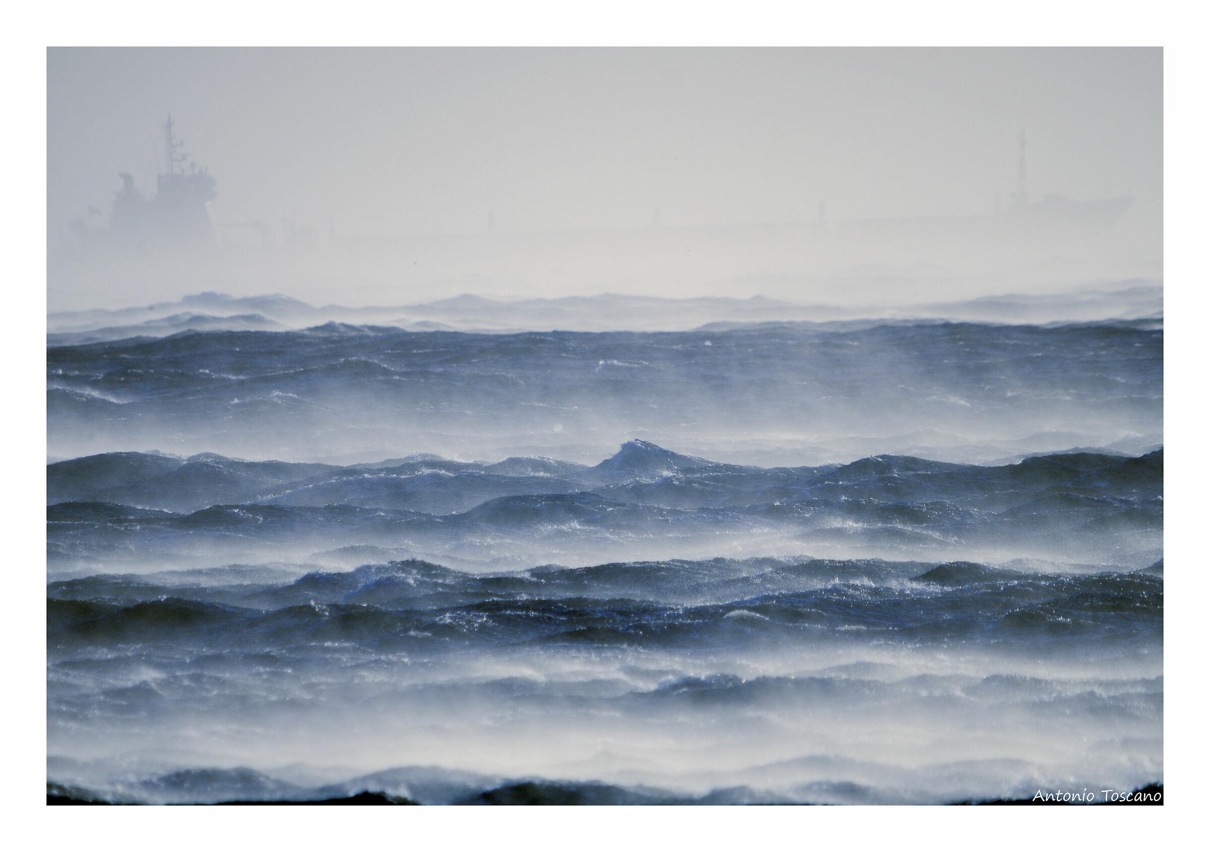 Tempesta di vento e di mare...