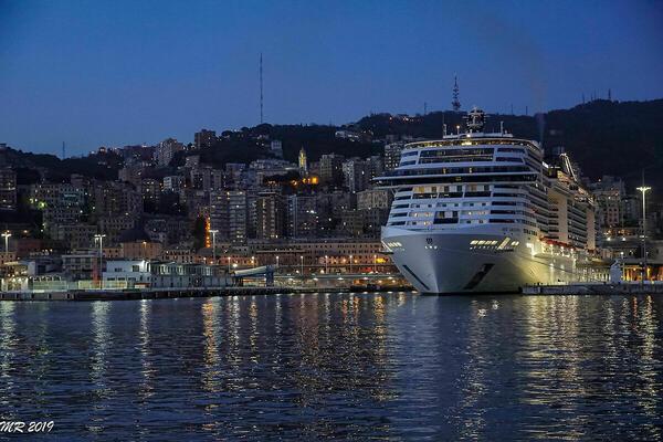 MSC Grandiosa - Genova Porto | JuzaPhoto