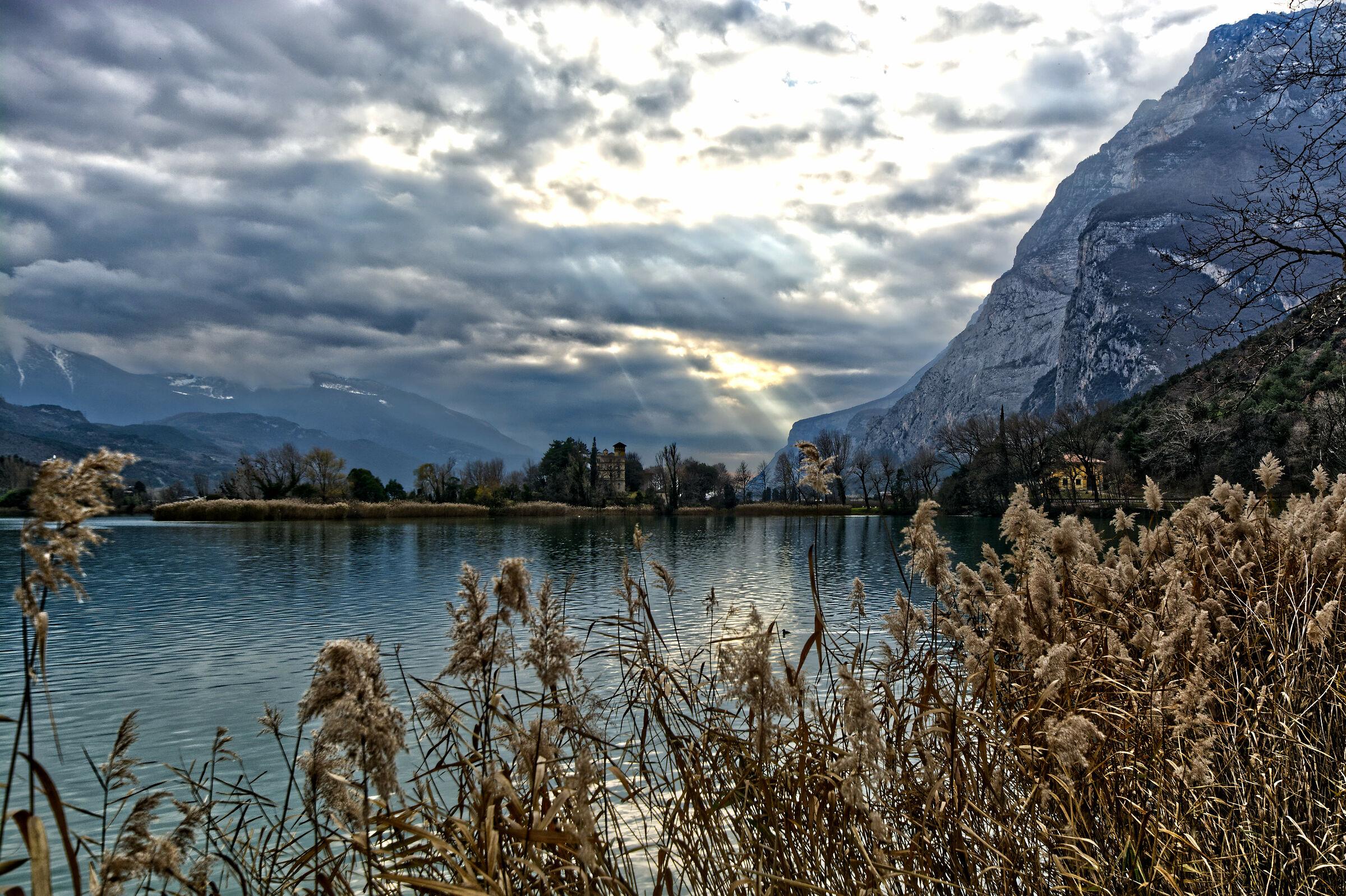 il lago di Toblino...