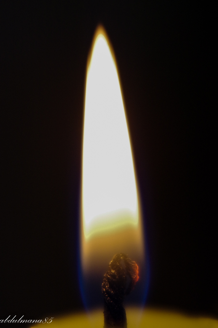 Candle flame...