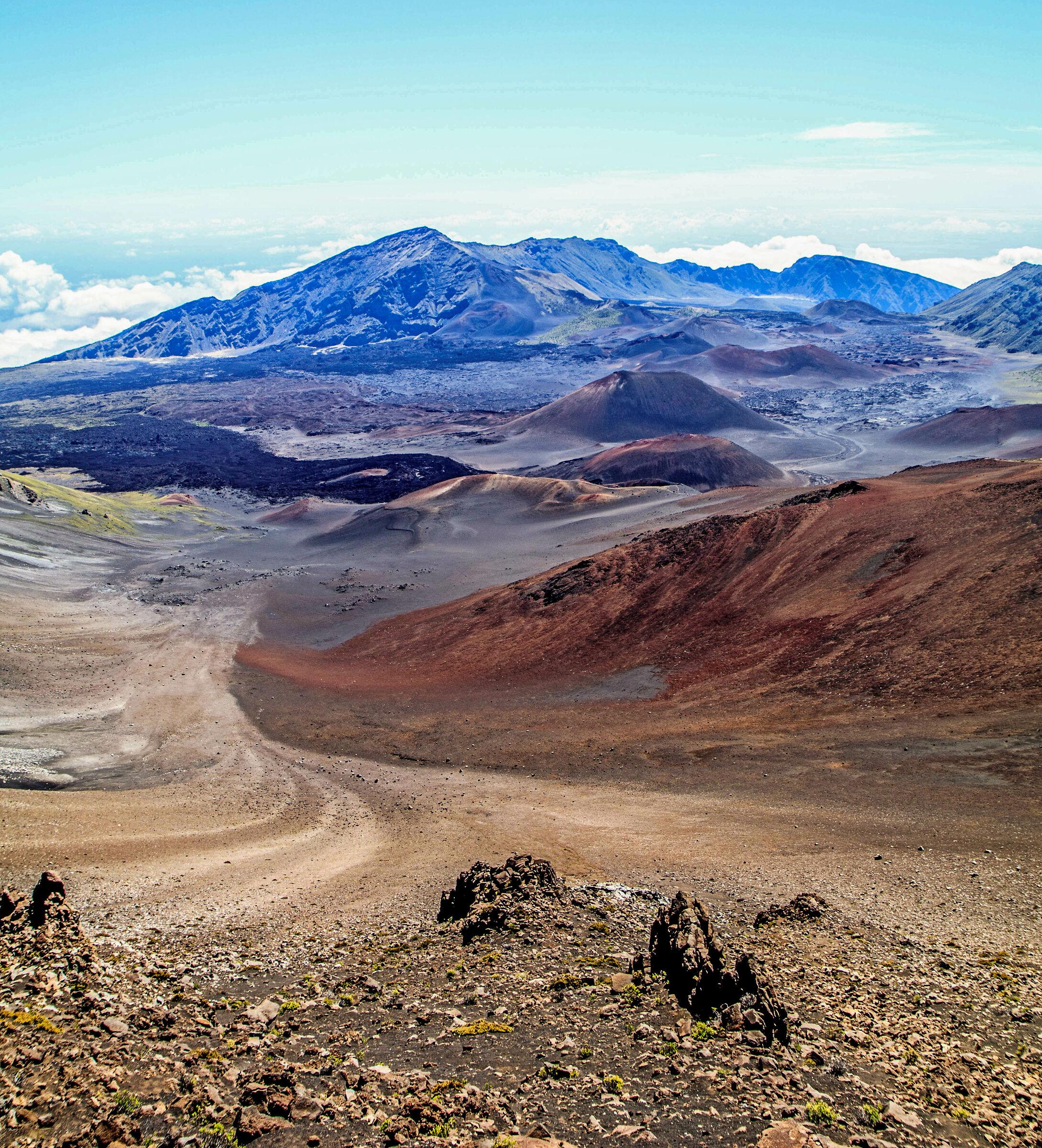 Haleakala Crater...