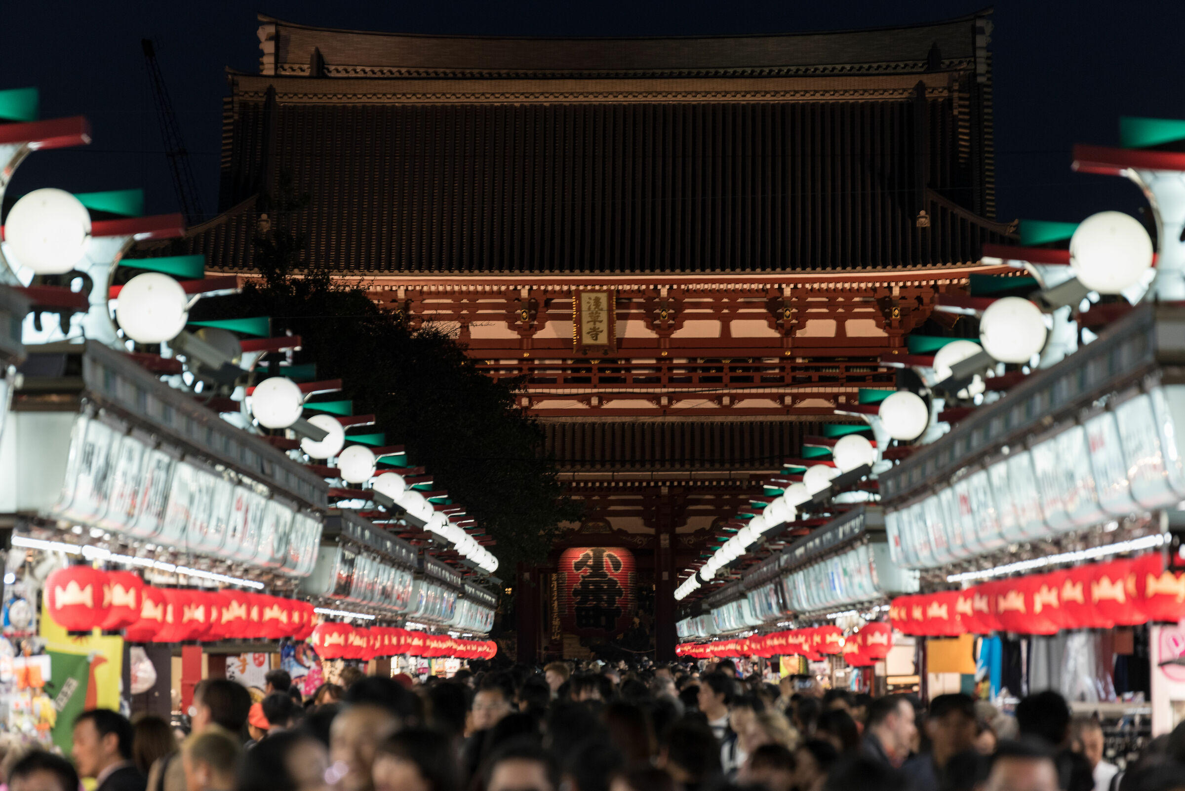 Nakamise Dori View - Senso-ji ...