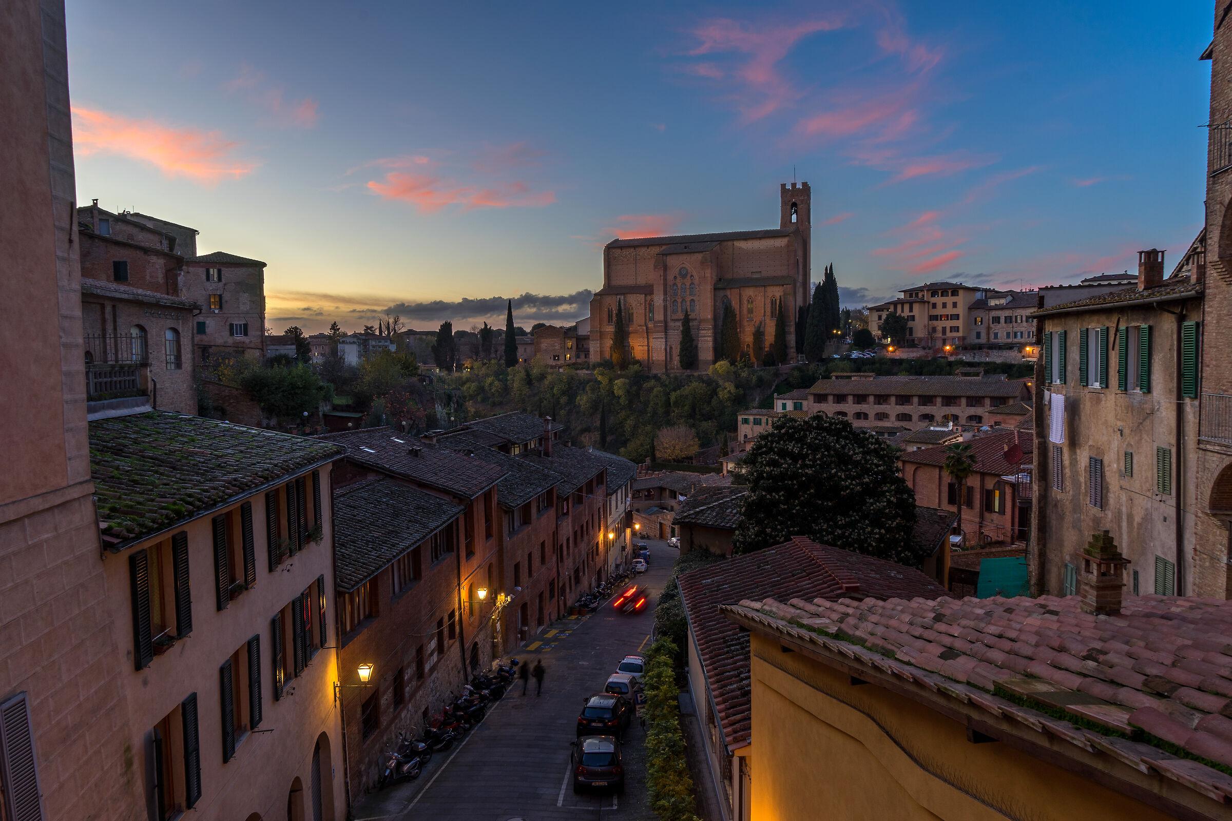 Siena sunset...