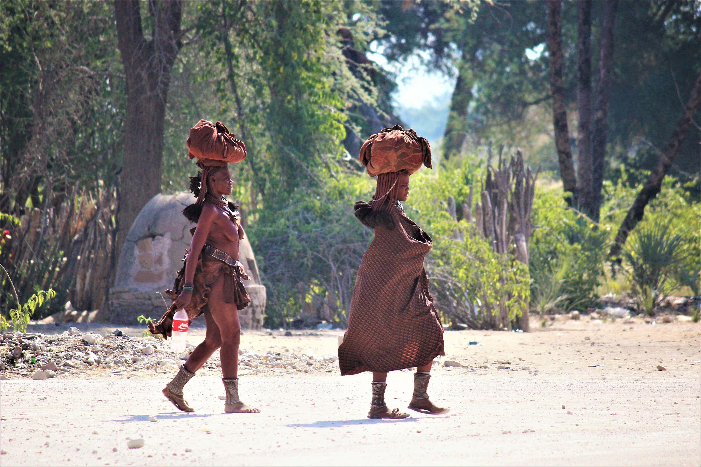 On a dusty road in Kaokoland II...