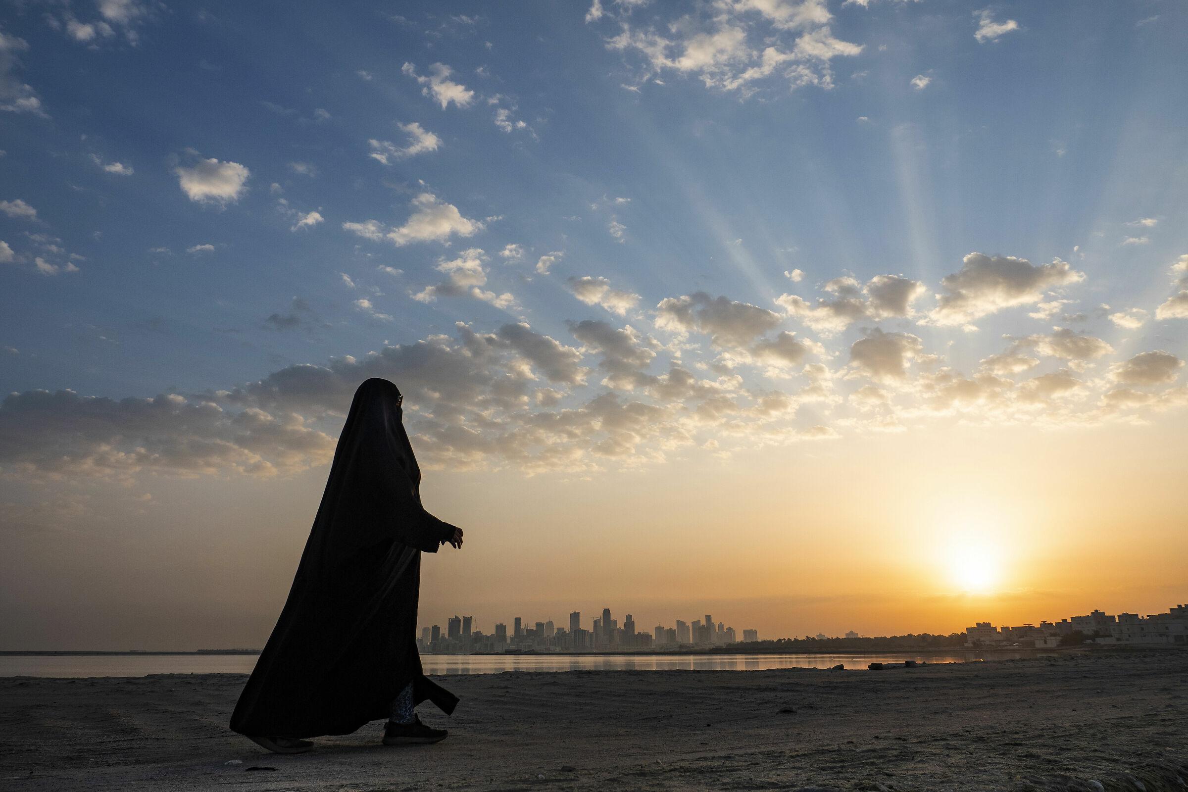 Morning walk in Bahrain...