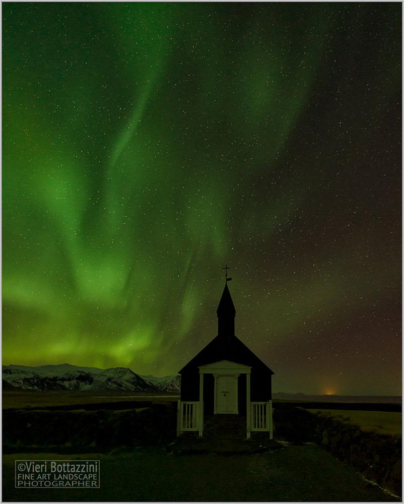 Aurora on the Black Church...