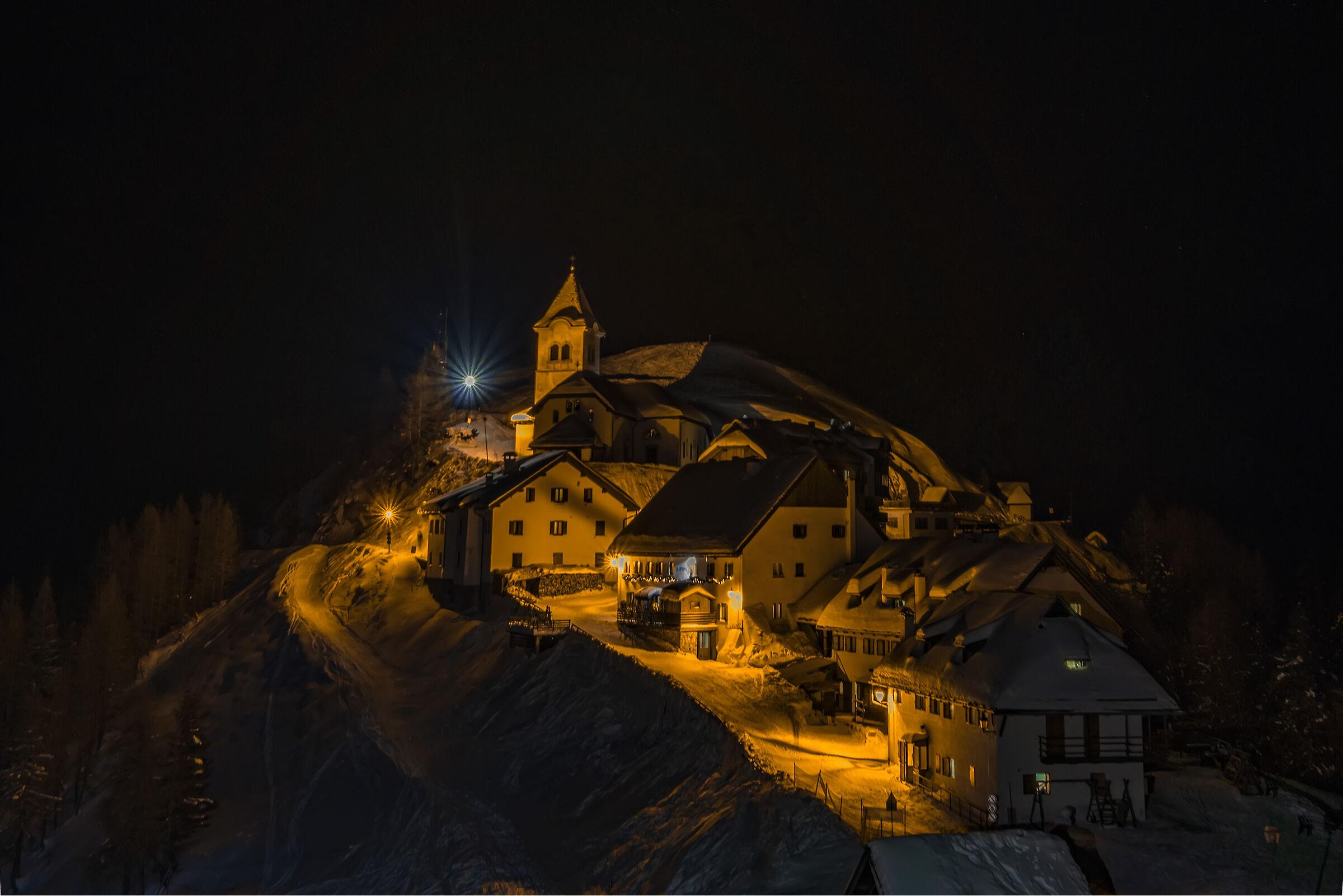 La notte al Lussari...