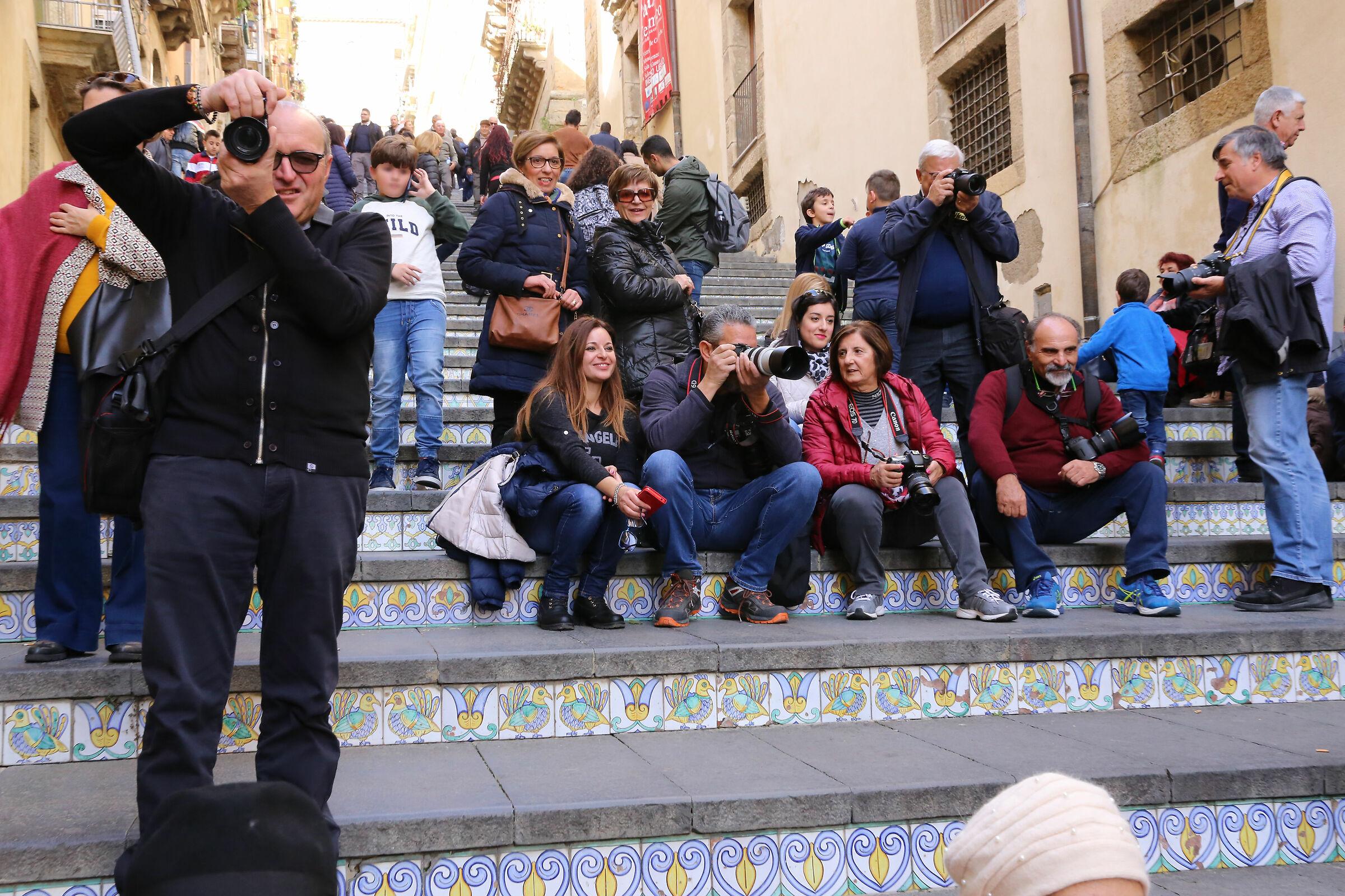 Juzini in action at Caltagirone...
