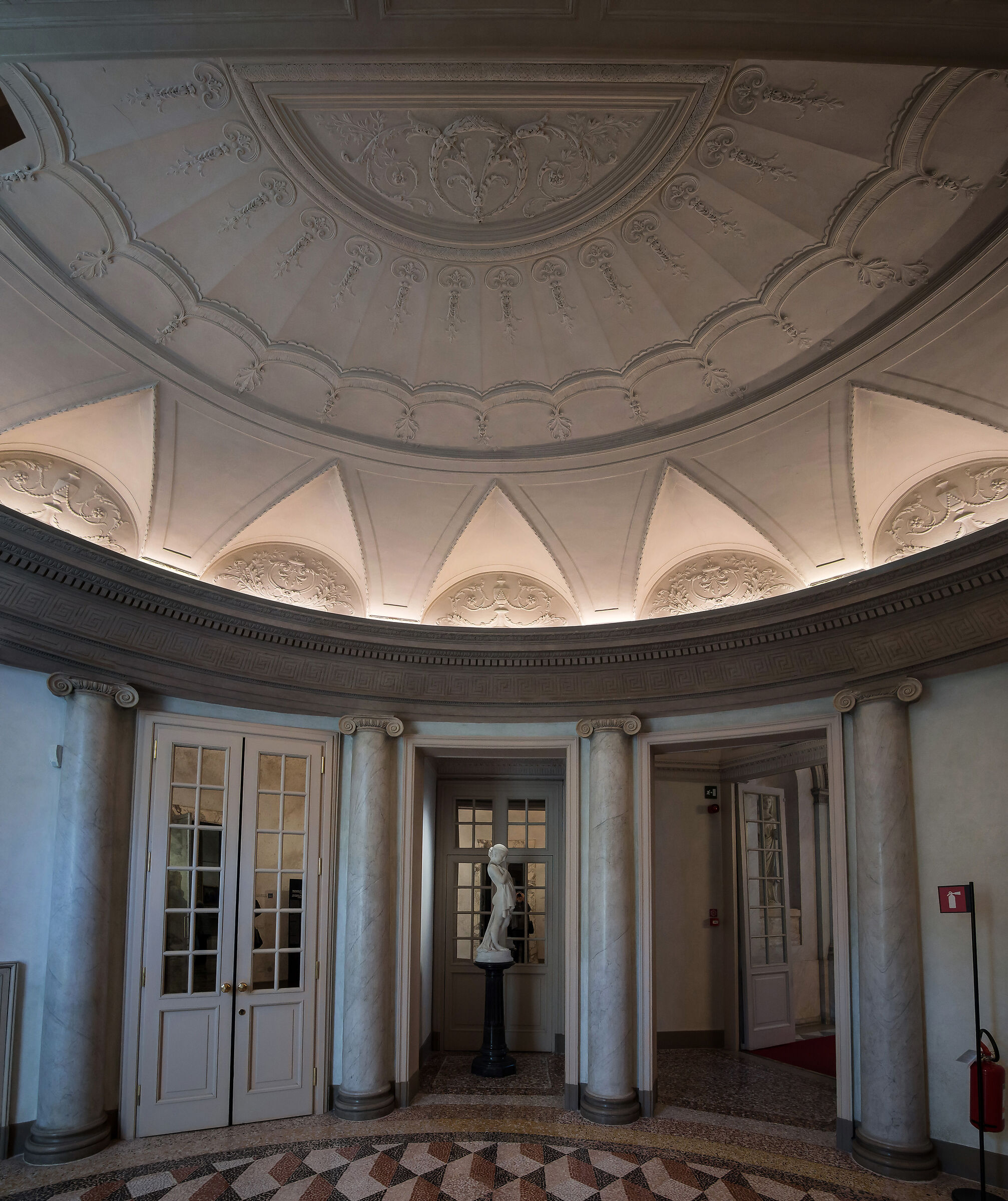 Anteroom in the Galleries of Italy - 2...