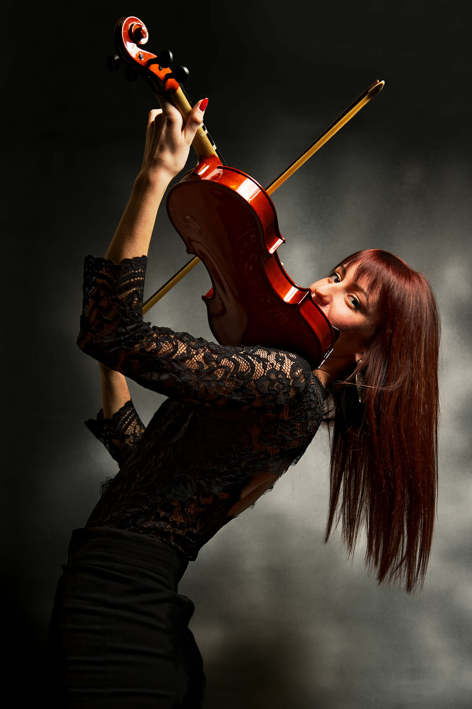 The Violinist...