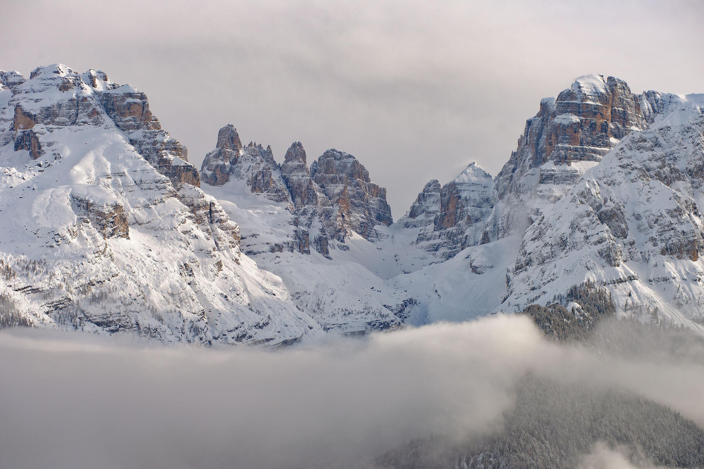 View from Ritorto Malga ...