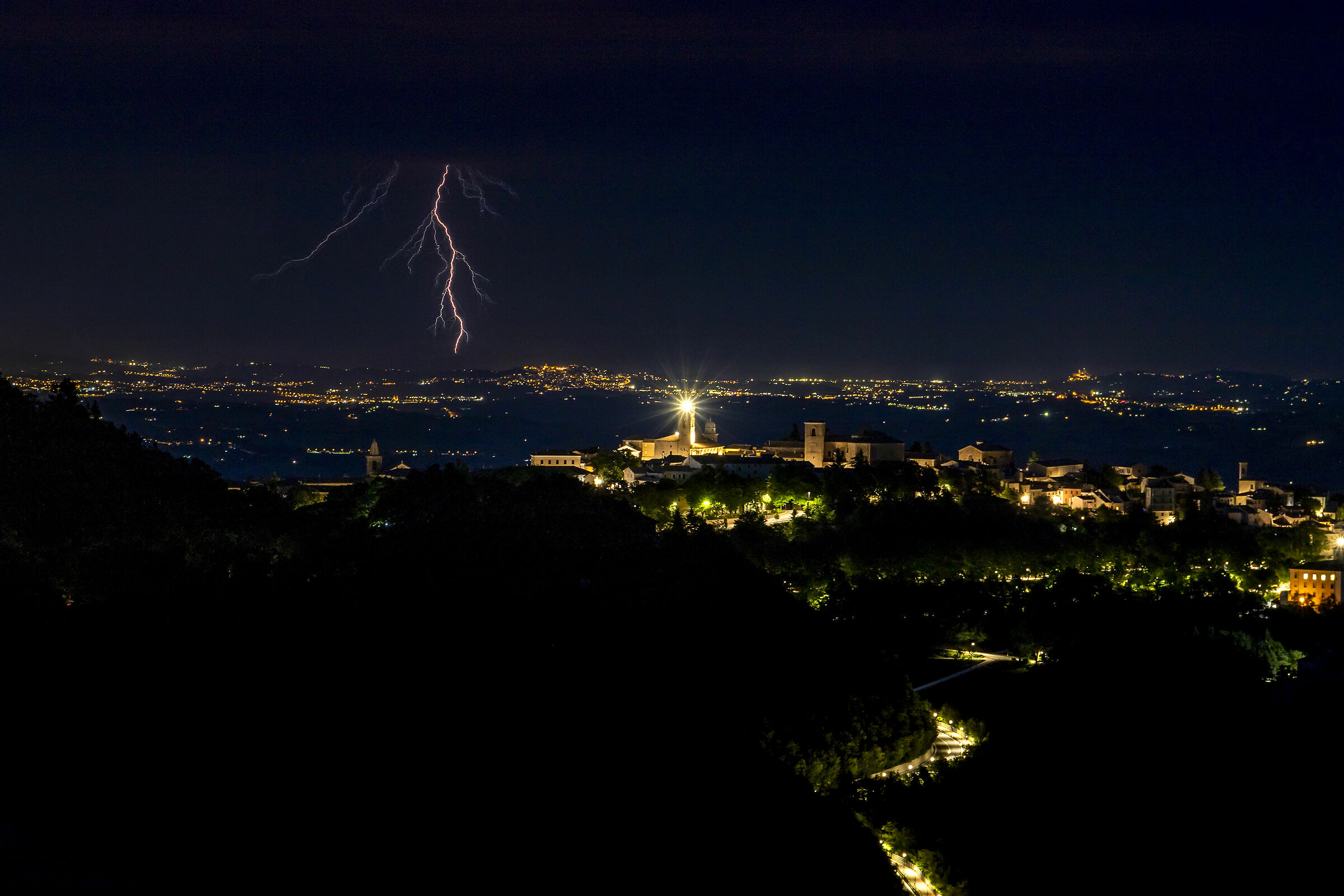 Thunderstorm in the Adriatic...