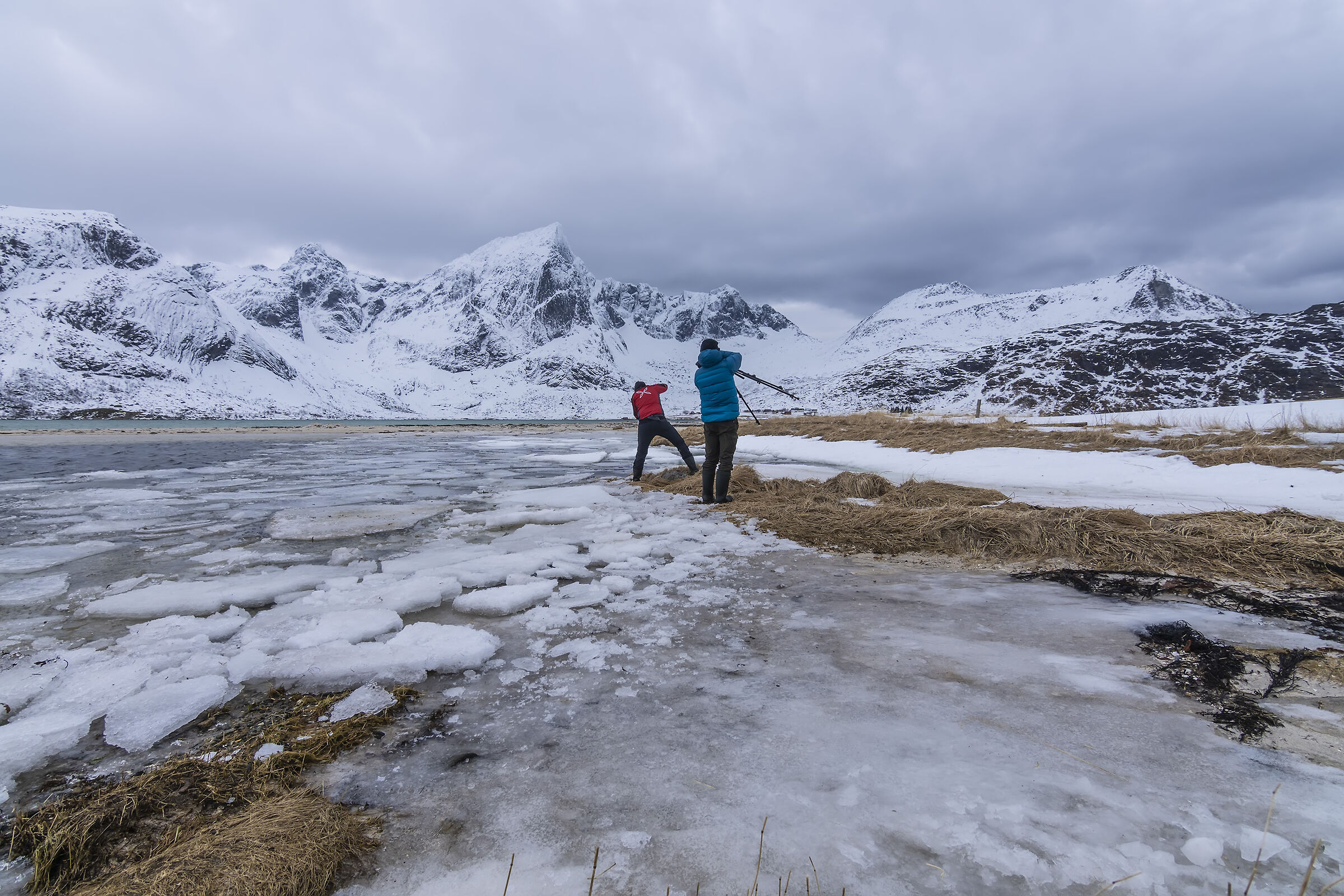 Fotografi fotografati alle Lofoten...