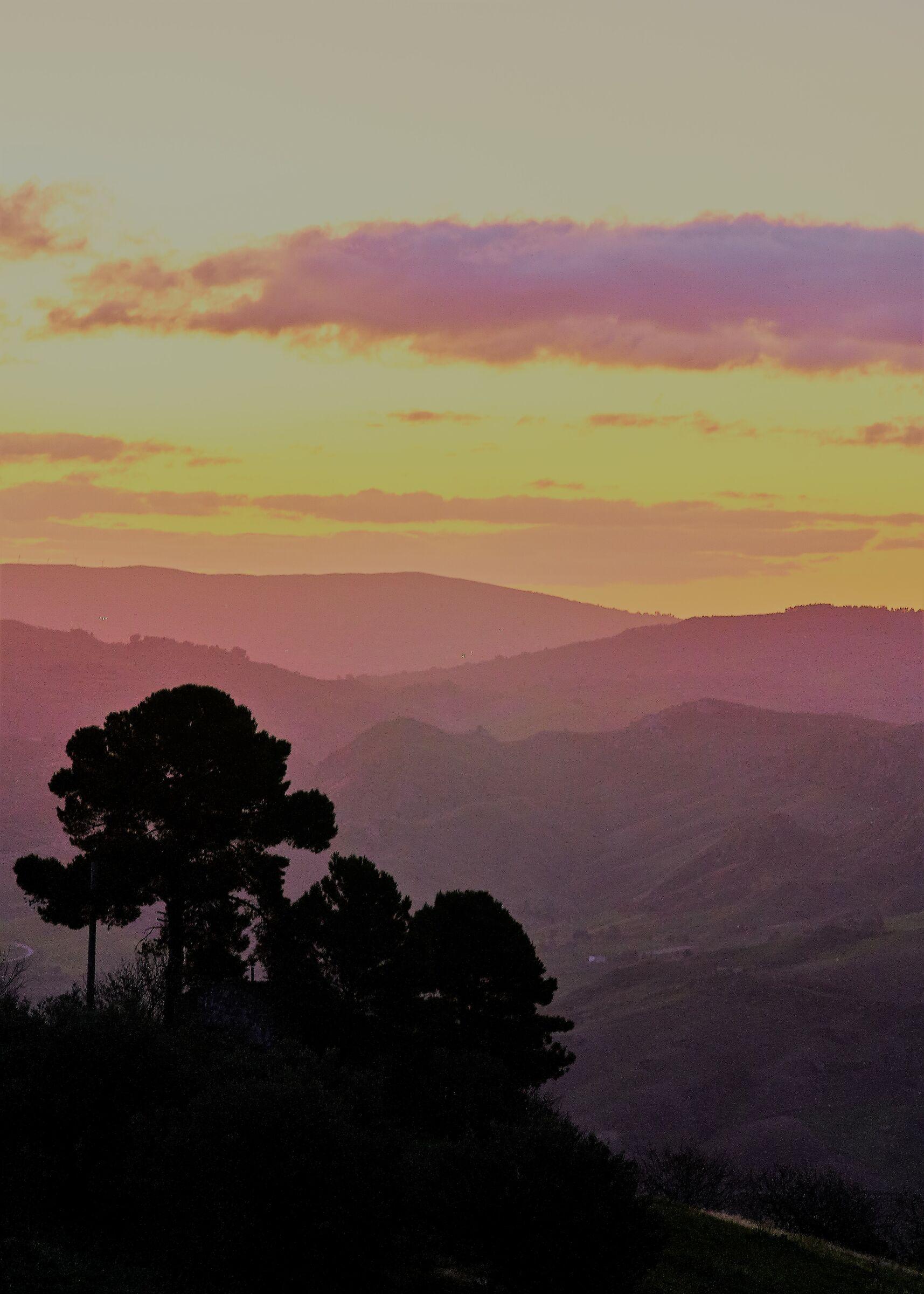 Valle dei Sicani: Natale 2019 all' alba...